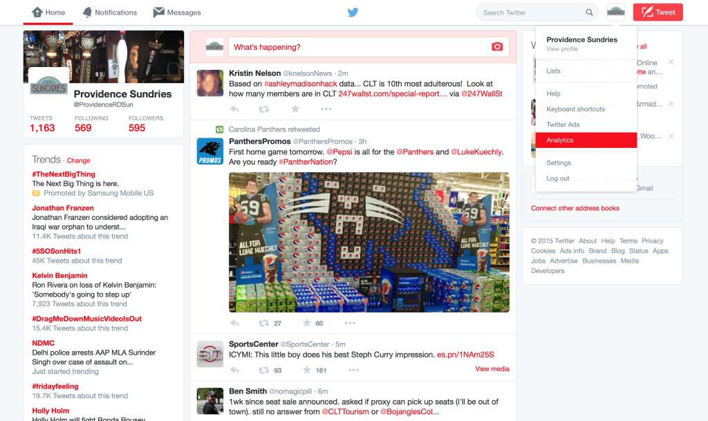 Twitter Analytics Blog photo 1