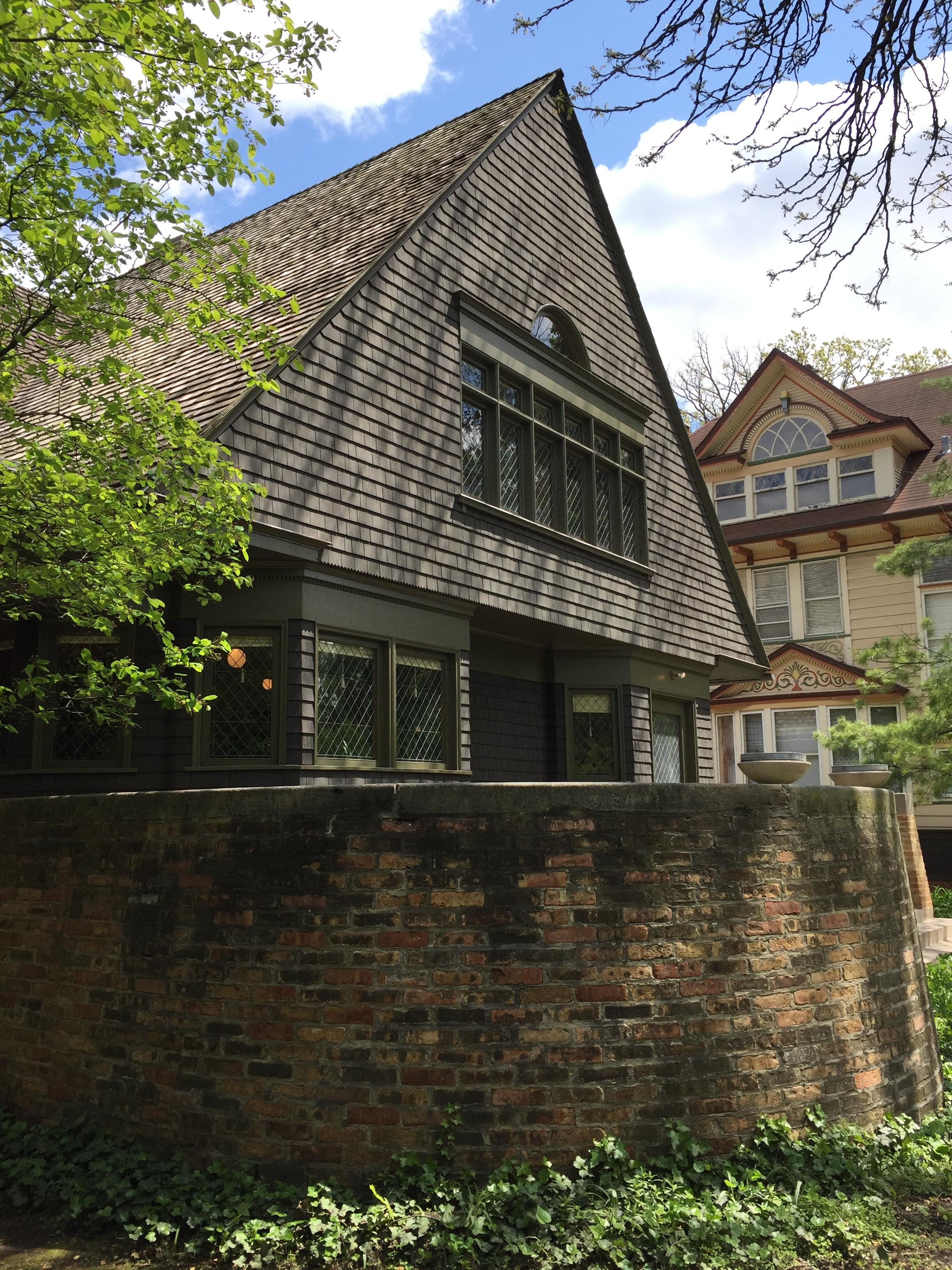 Frank Lloyd Wright first home