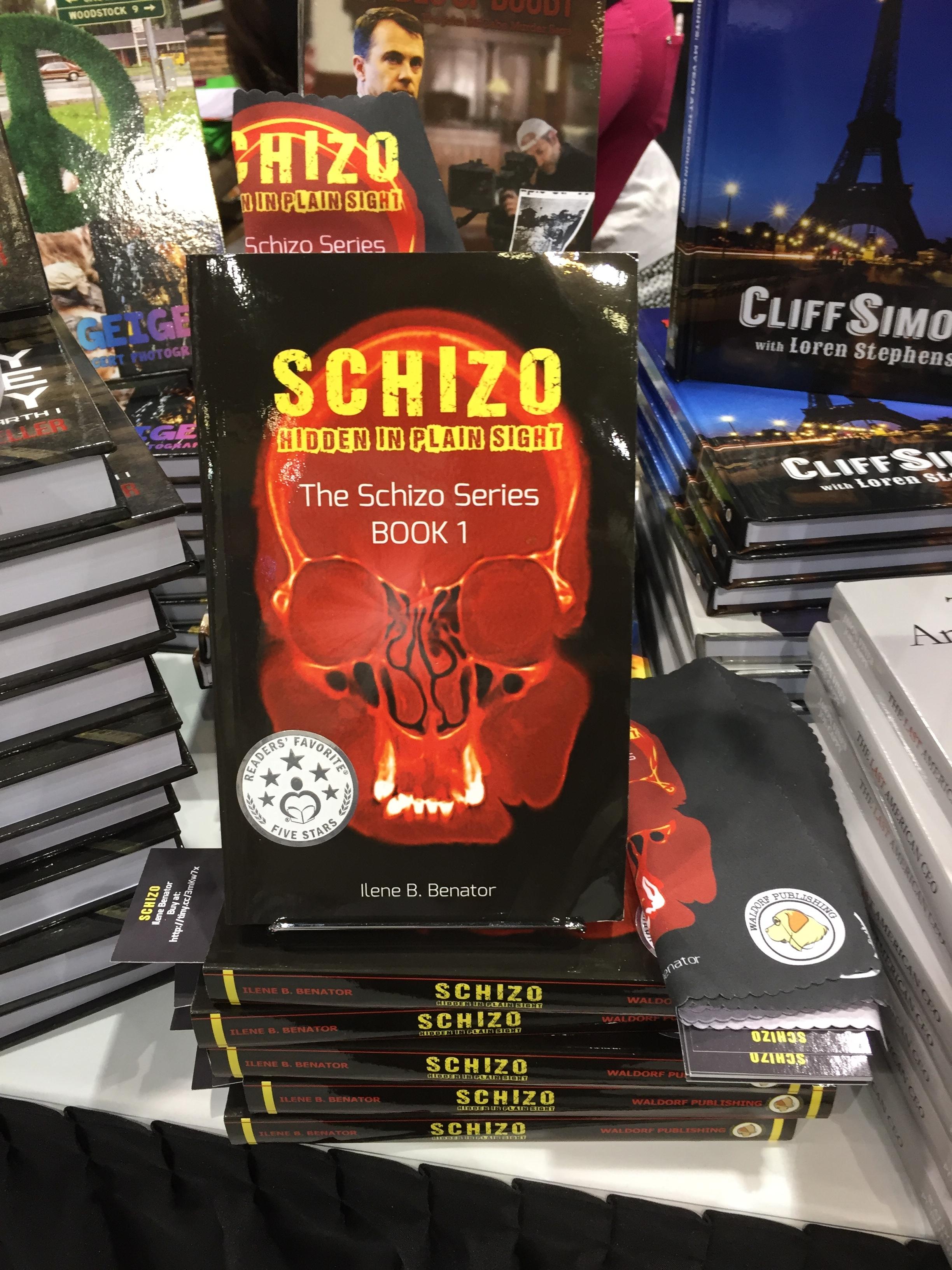 Shelfie of Schizo