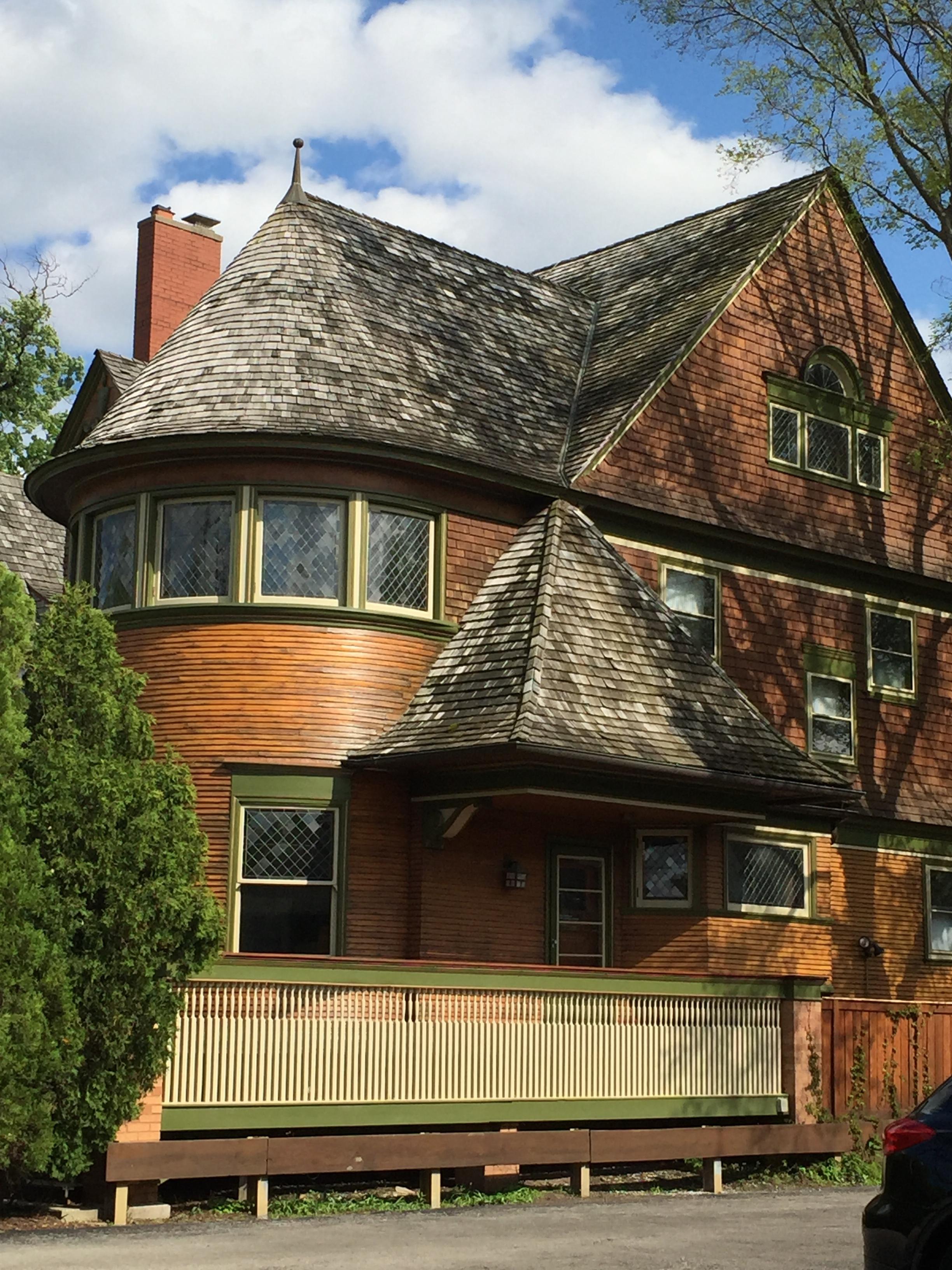 Wright designed house