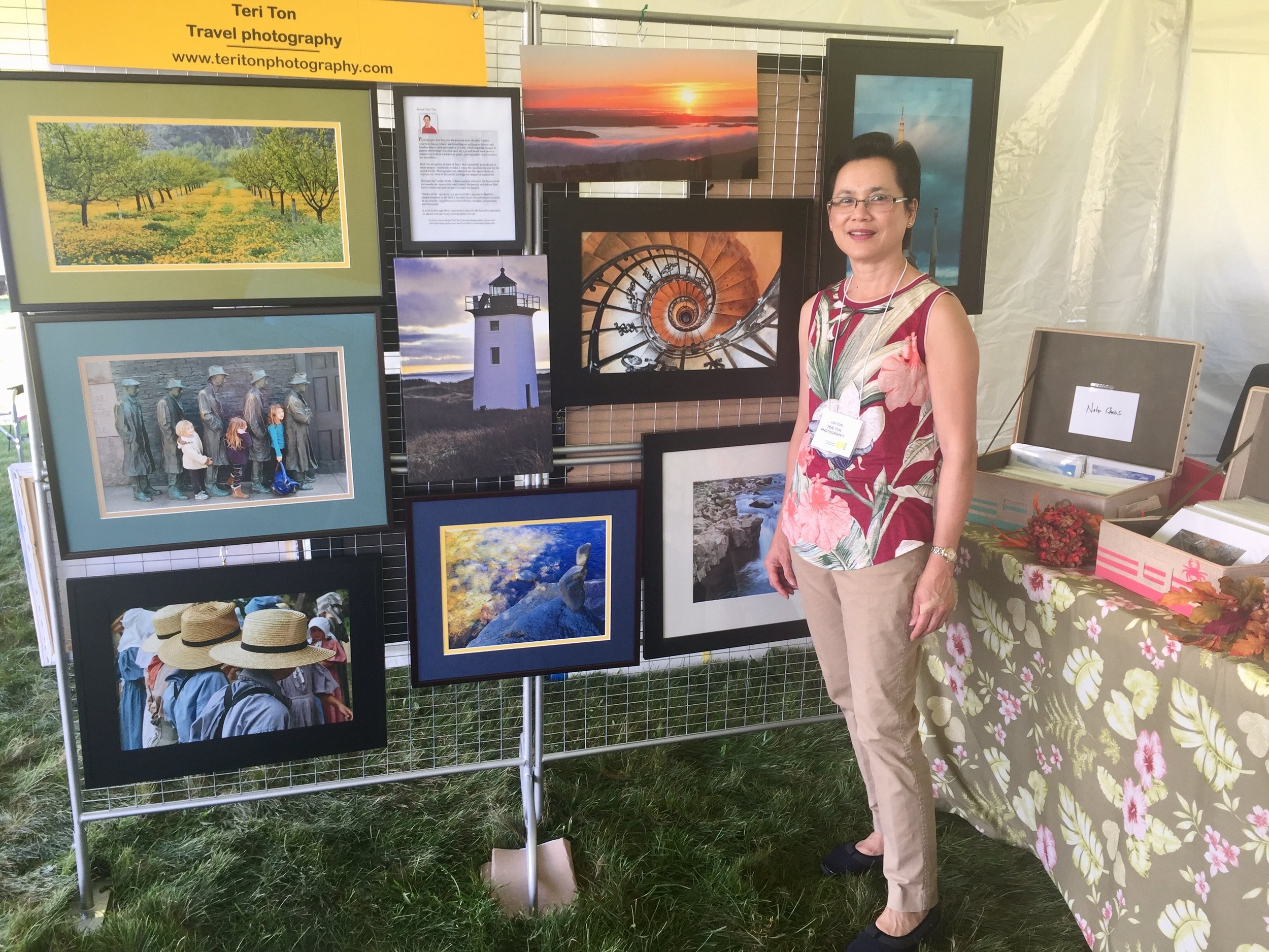 Teri Ton at Fruitlands Craft Festival.jpg