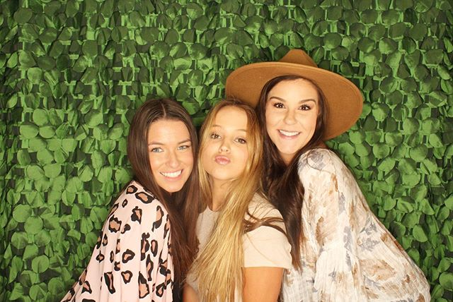 The SnapBooth was a blast at @materialgirlsms last week! #pictureit