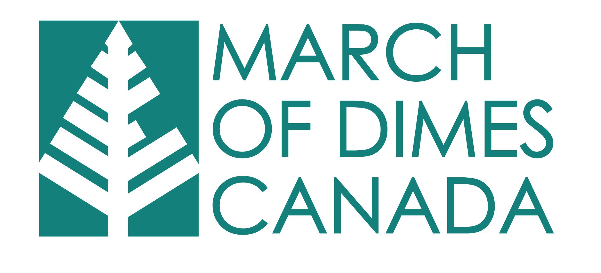 march of dimes canada logo