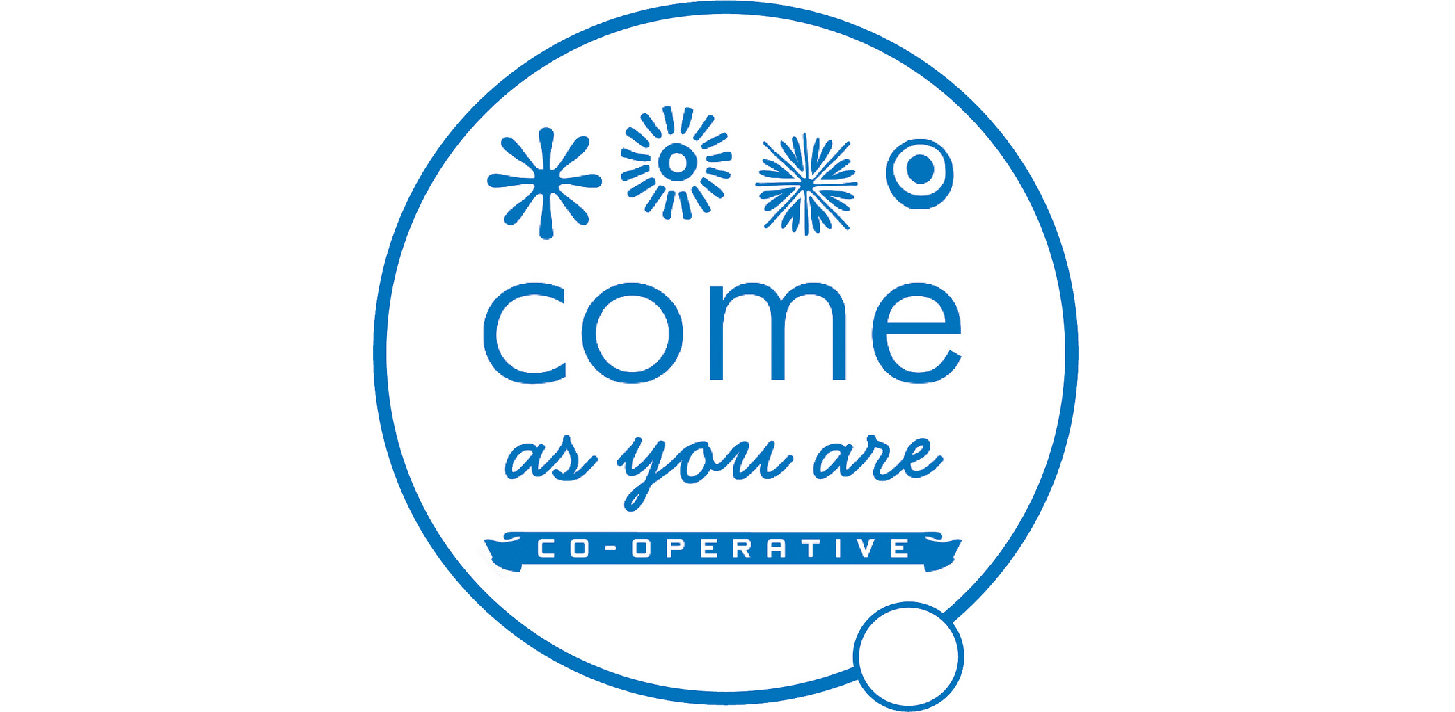 come as you are cooporative logo