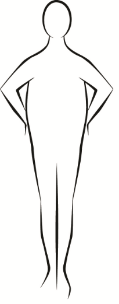 Apple-shaped body
