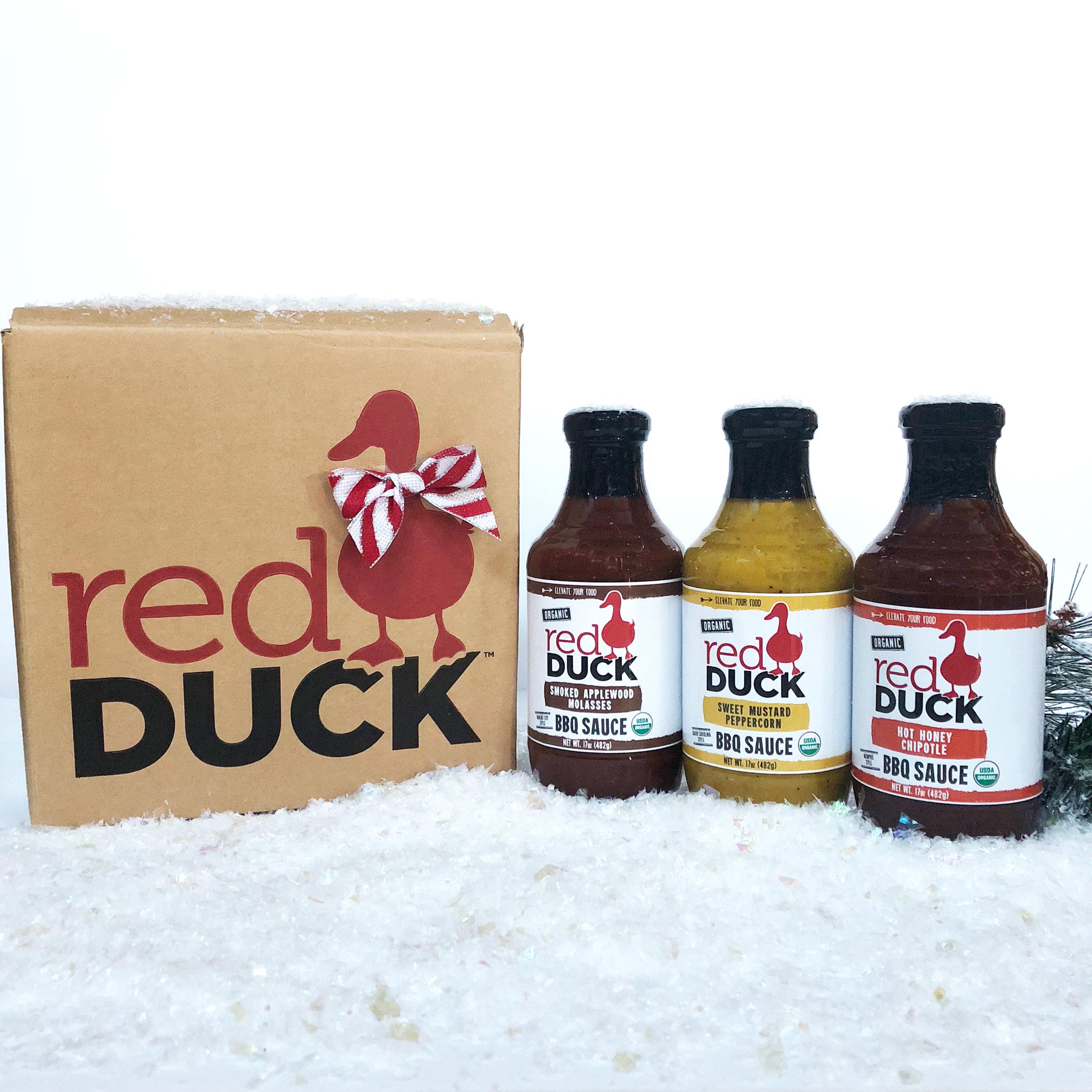 Holiday BBQ Sauce Gift Set - $24