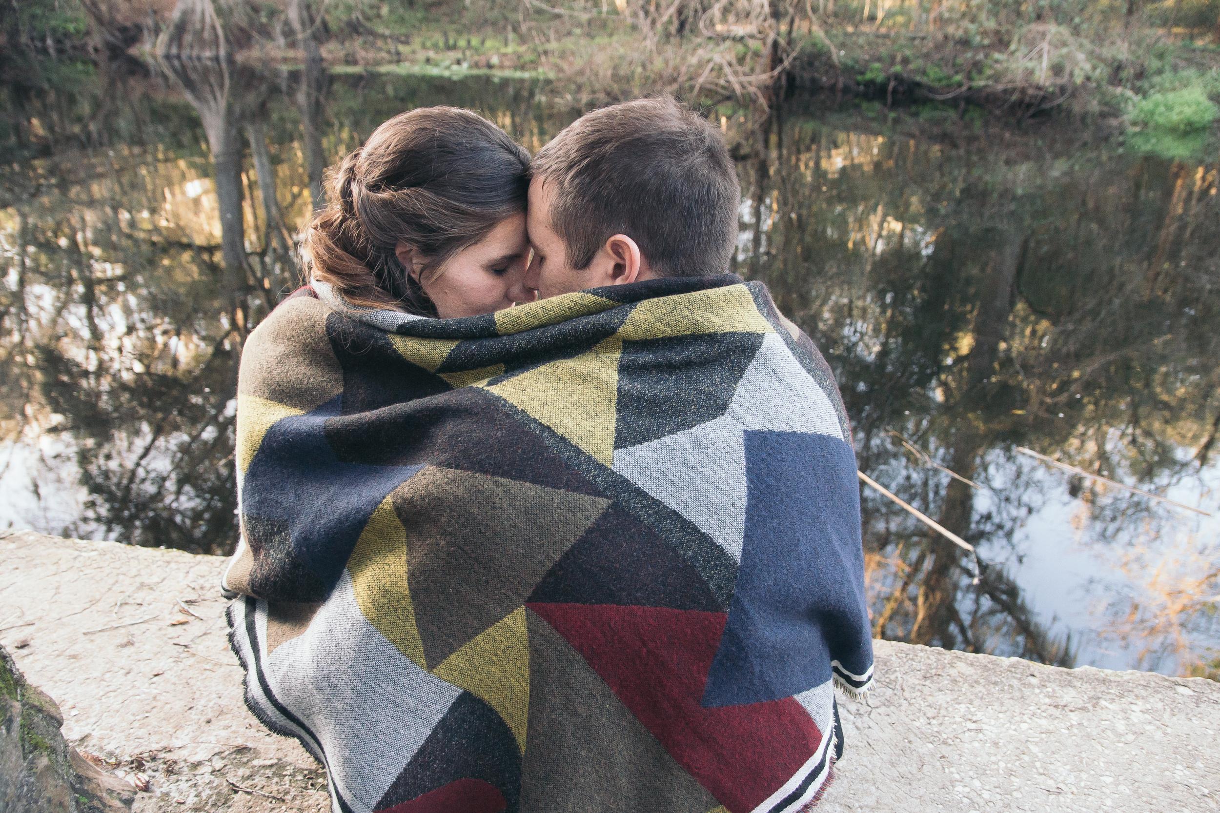 Tampa romantic engagement session