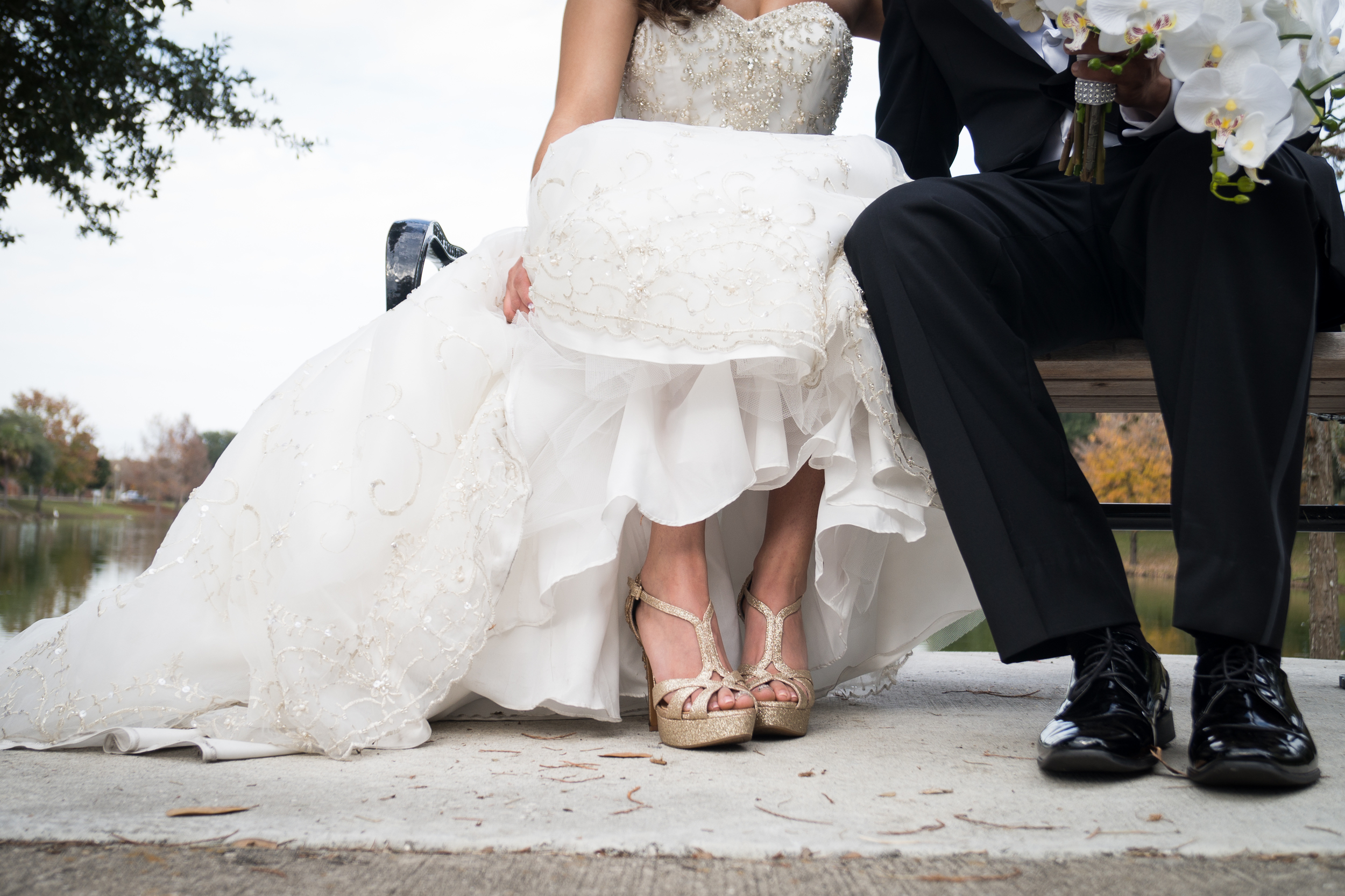 Ocala Wedding photographer, Tampa wedding photographer. Hilton elegant wedding