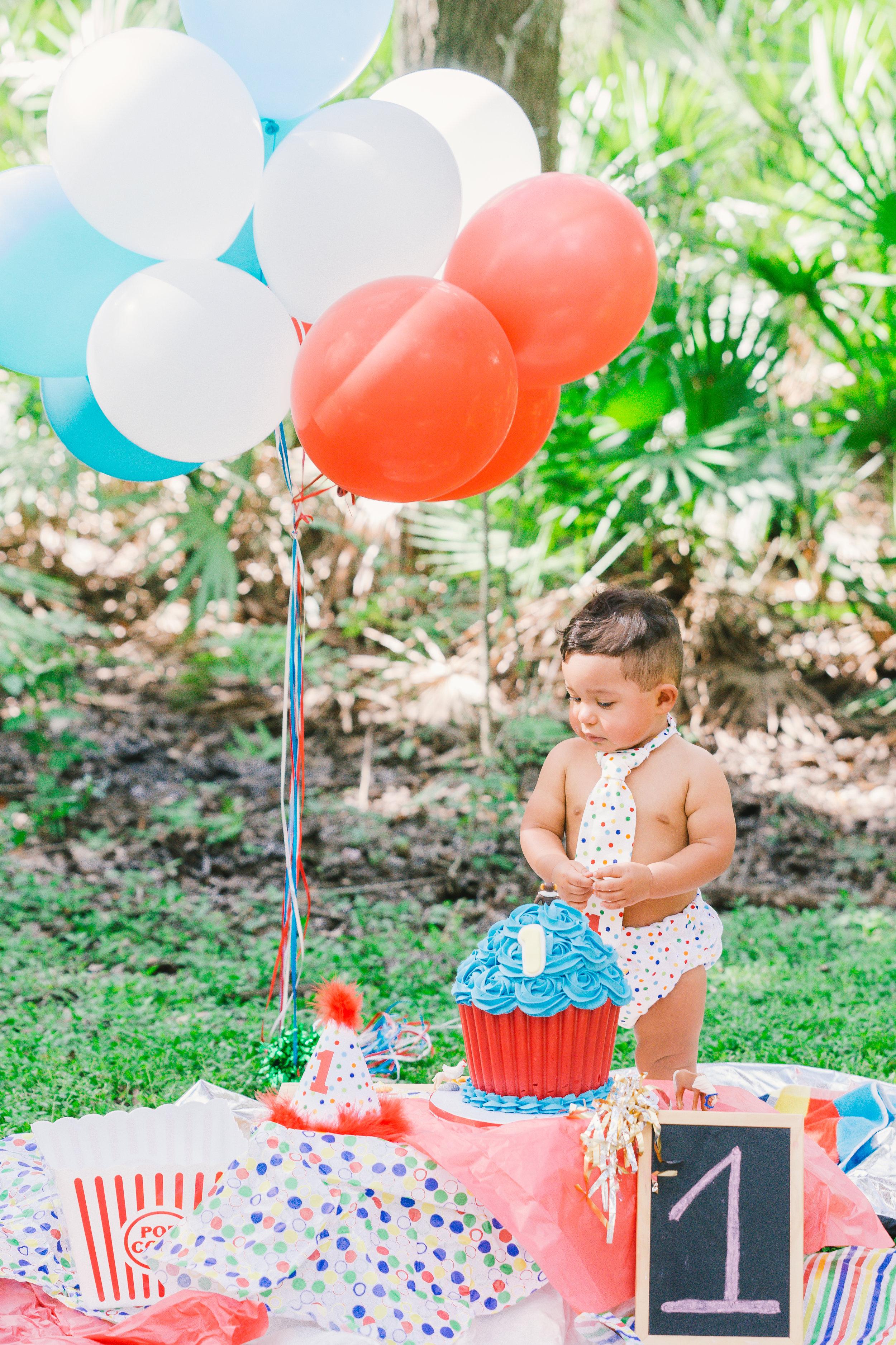 Tampa smash cake session | Tampa photographer | Tampa wedding photographer