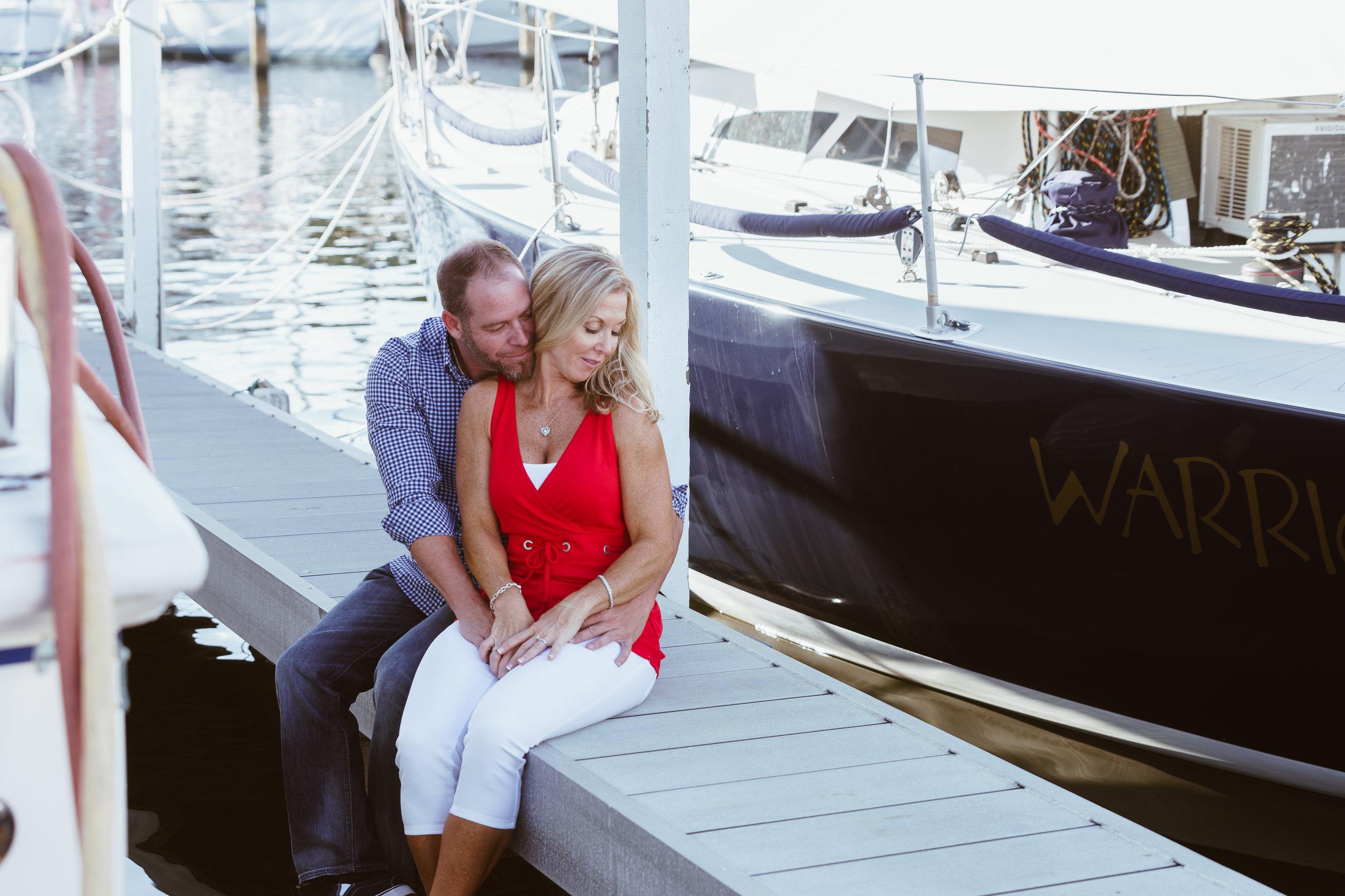 St.Petersburg engagement session, St.Pete wedding photographer, St.Petersburg Yacht Club. Tampa wedding photographer
