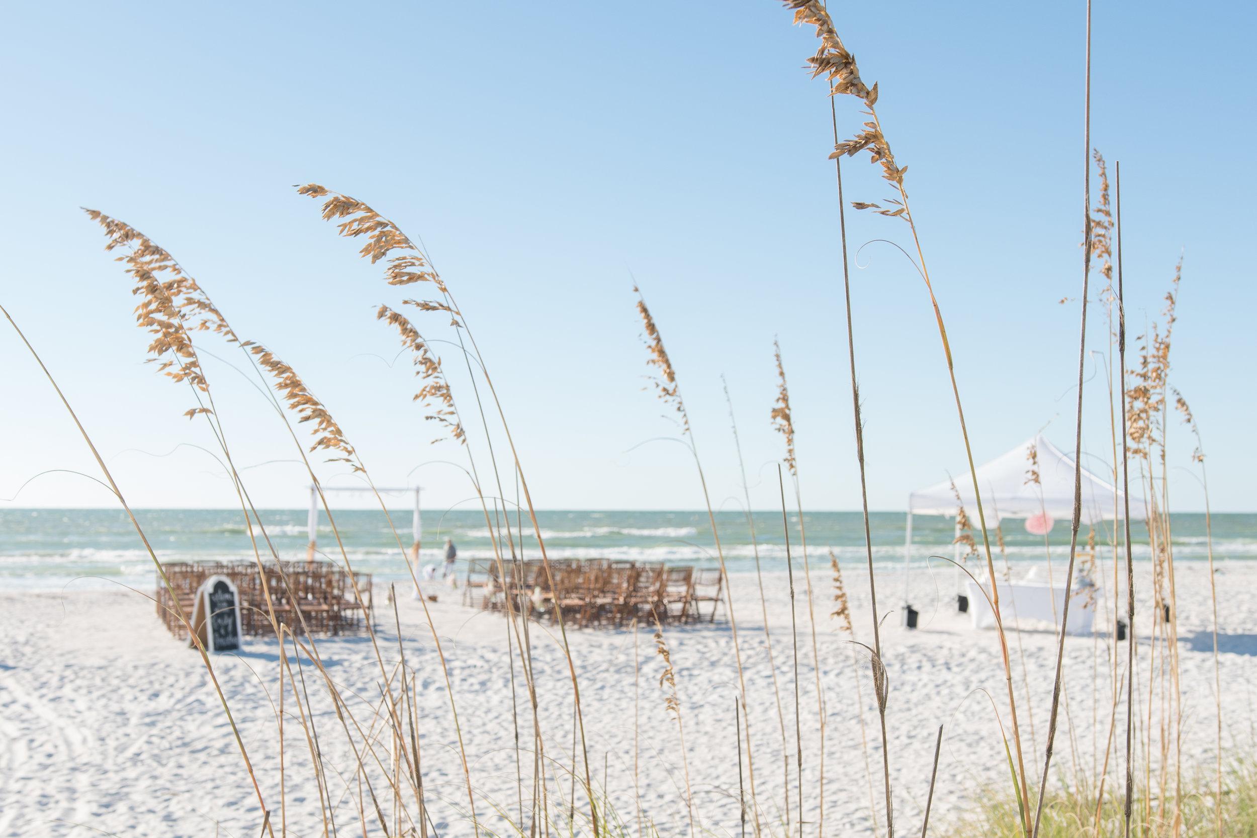 White Sand Beach Wedding At P A