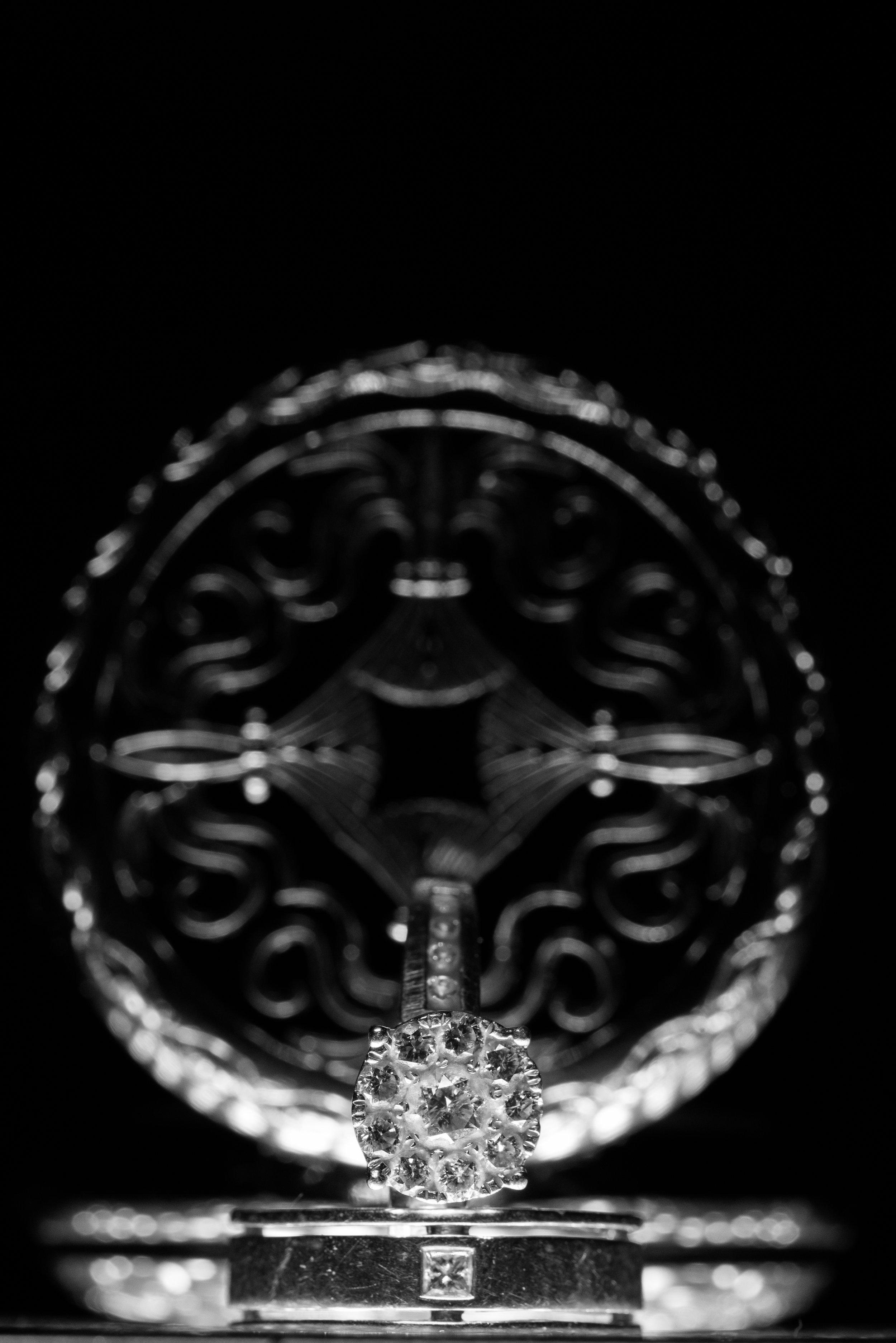 Tampa wedding ring shot
