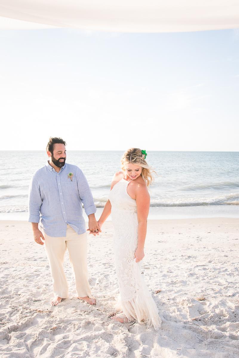 beach-wedding-photographer, st.pete-wedding-photographer, bride-and-groom