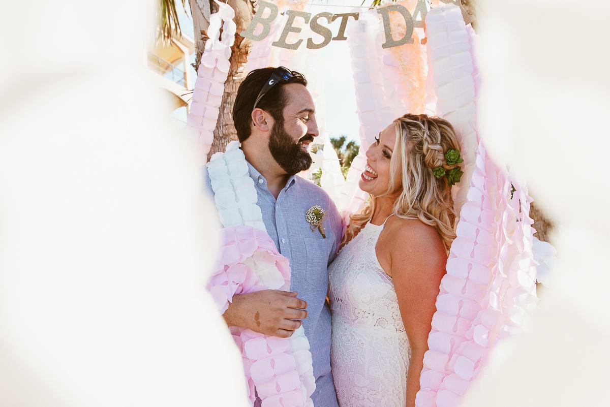 bride-and-groom-beach-wedidng, indian-rocks-beah-wedding