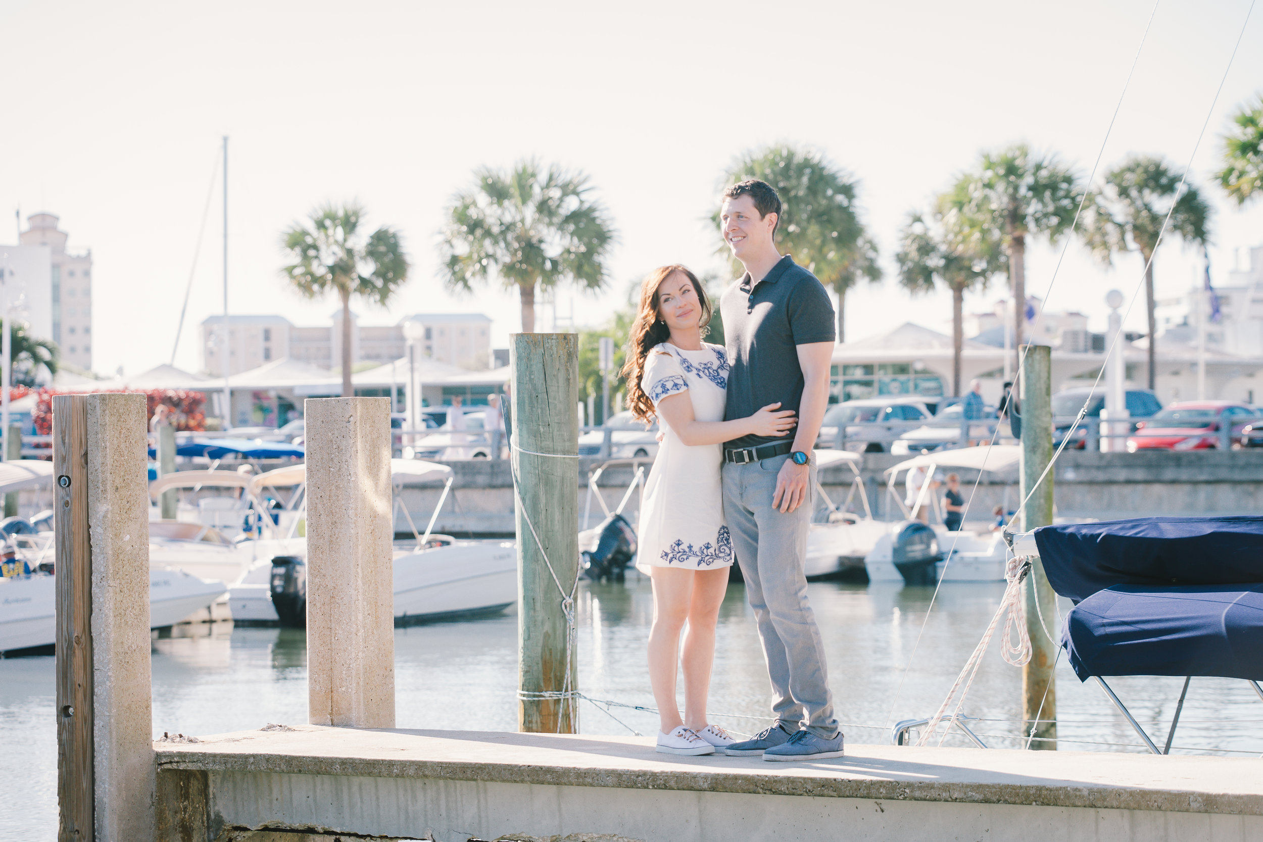 Sarasota-engagement-session-at-marina-jack