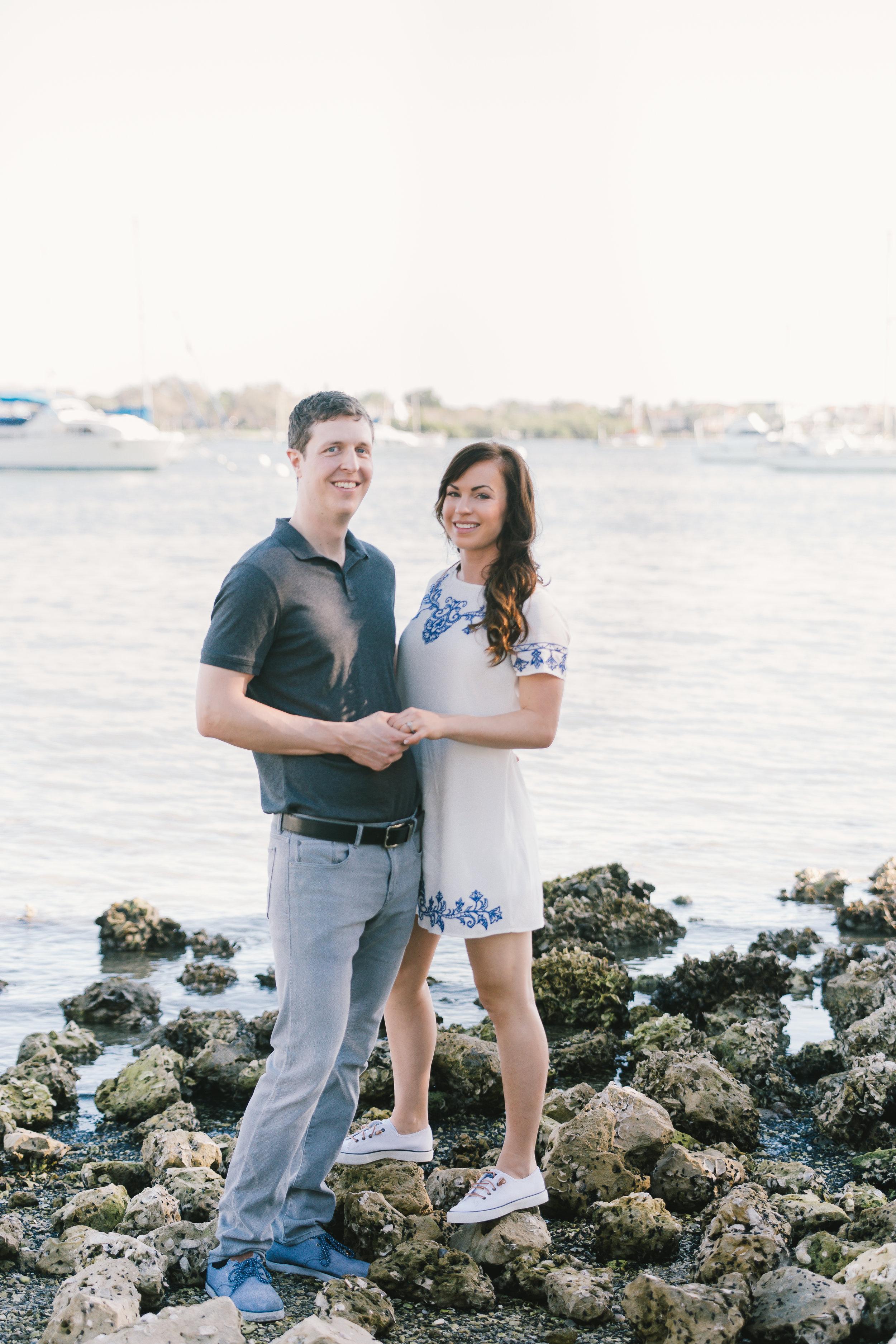 Engagement-session-at-Jack-Marina-Sarasota