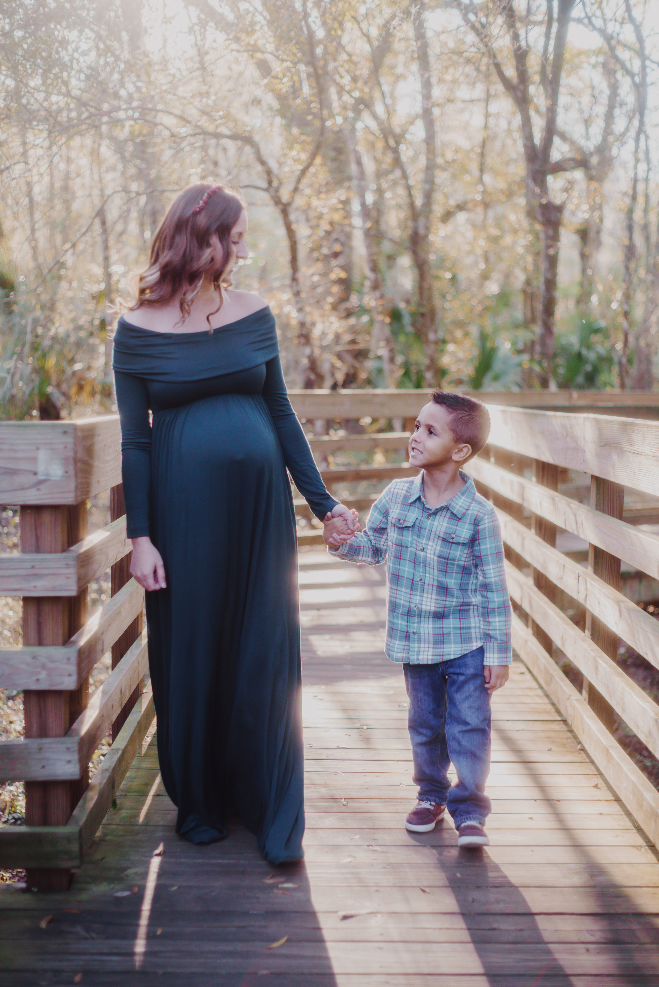 Tampa-maternity-session, Mom-and-son-photo
