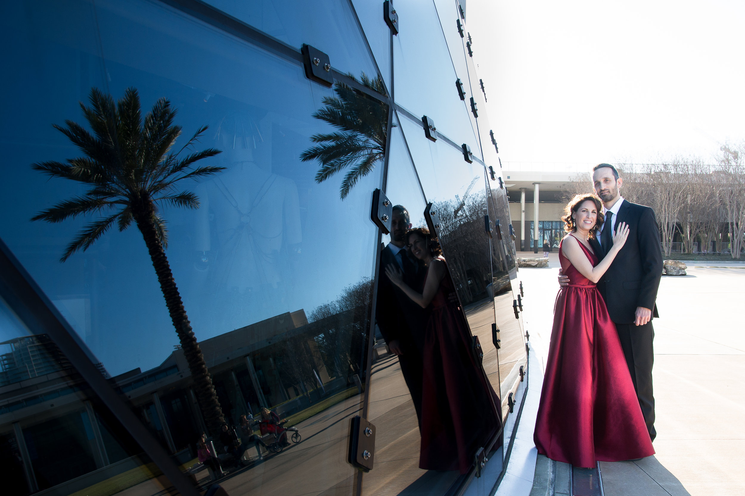 Best-locations-for-engagement-photos, St.Pete-photographer,Dali-museum-engagement-session
