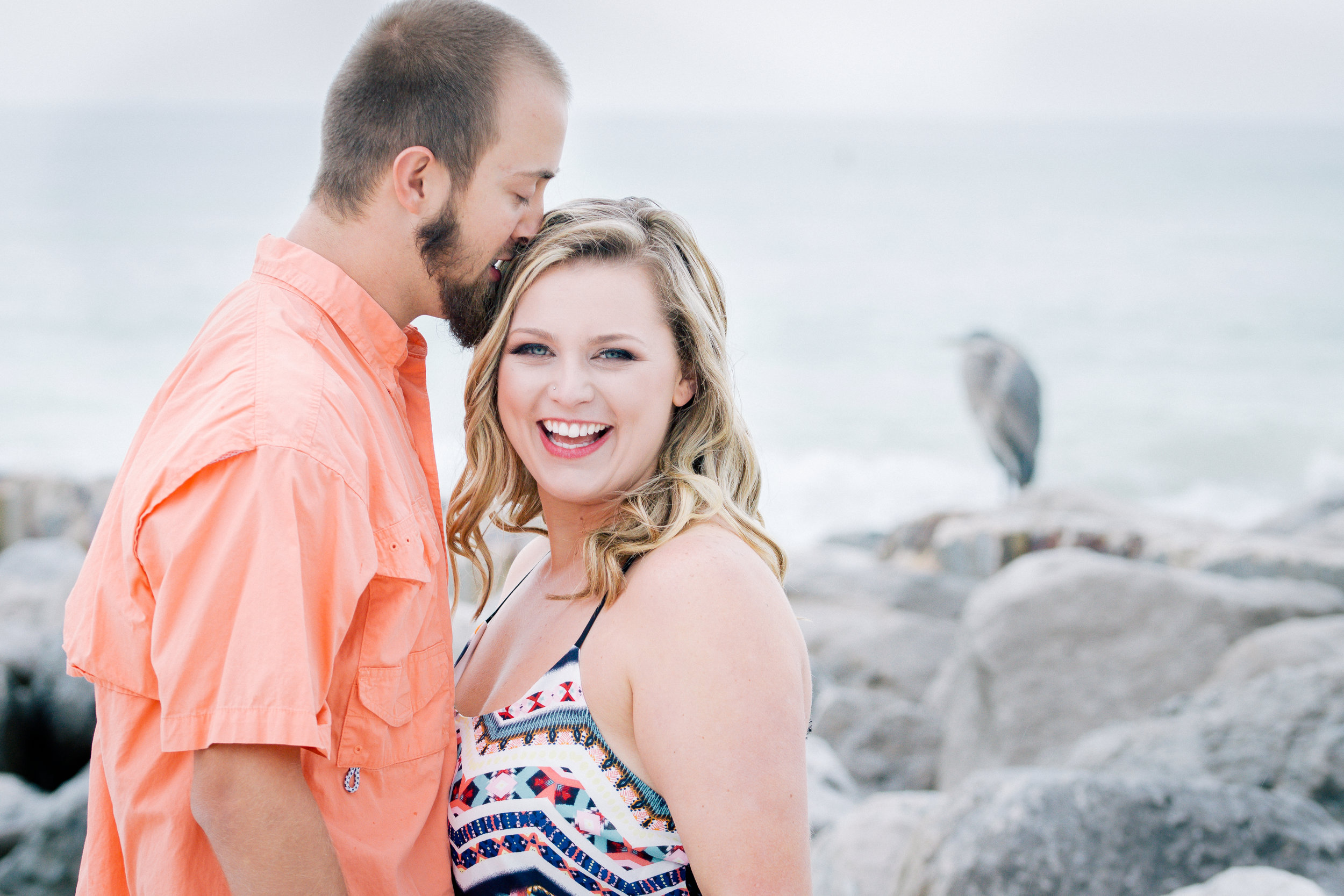Tampa-Best-locations-for-engagement-session, Sunset-beach-engagement-session