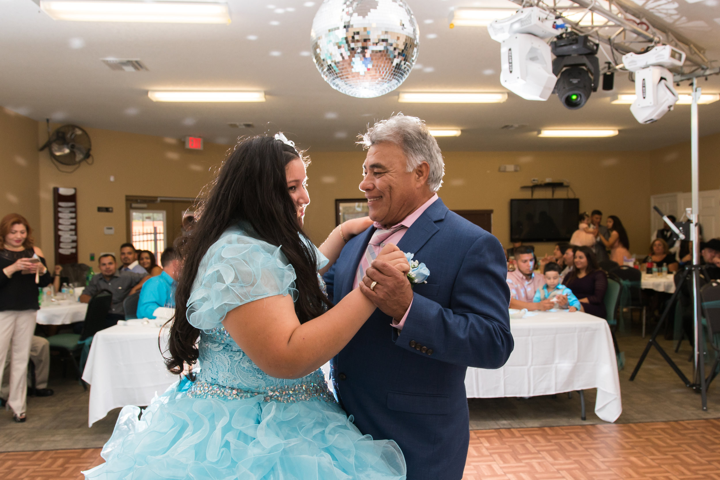 Father-and-daughter-dance, Quinceañera-party