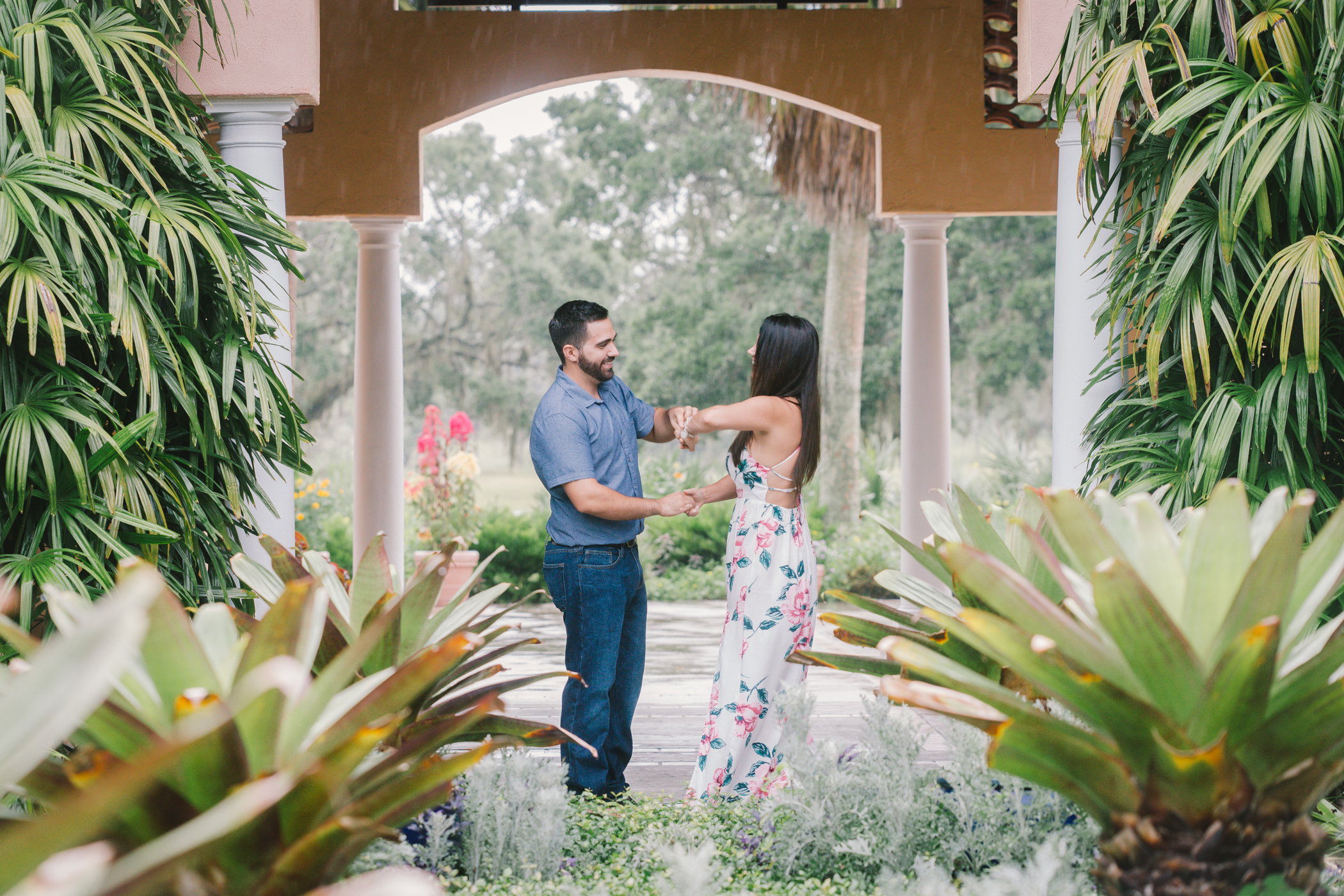 Tampa-wedding-photographer, Bok-tower-gardens-engagement