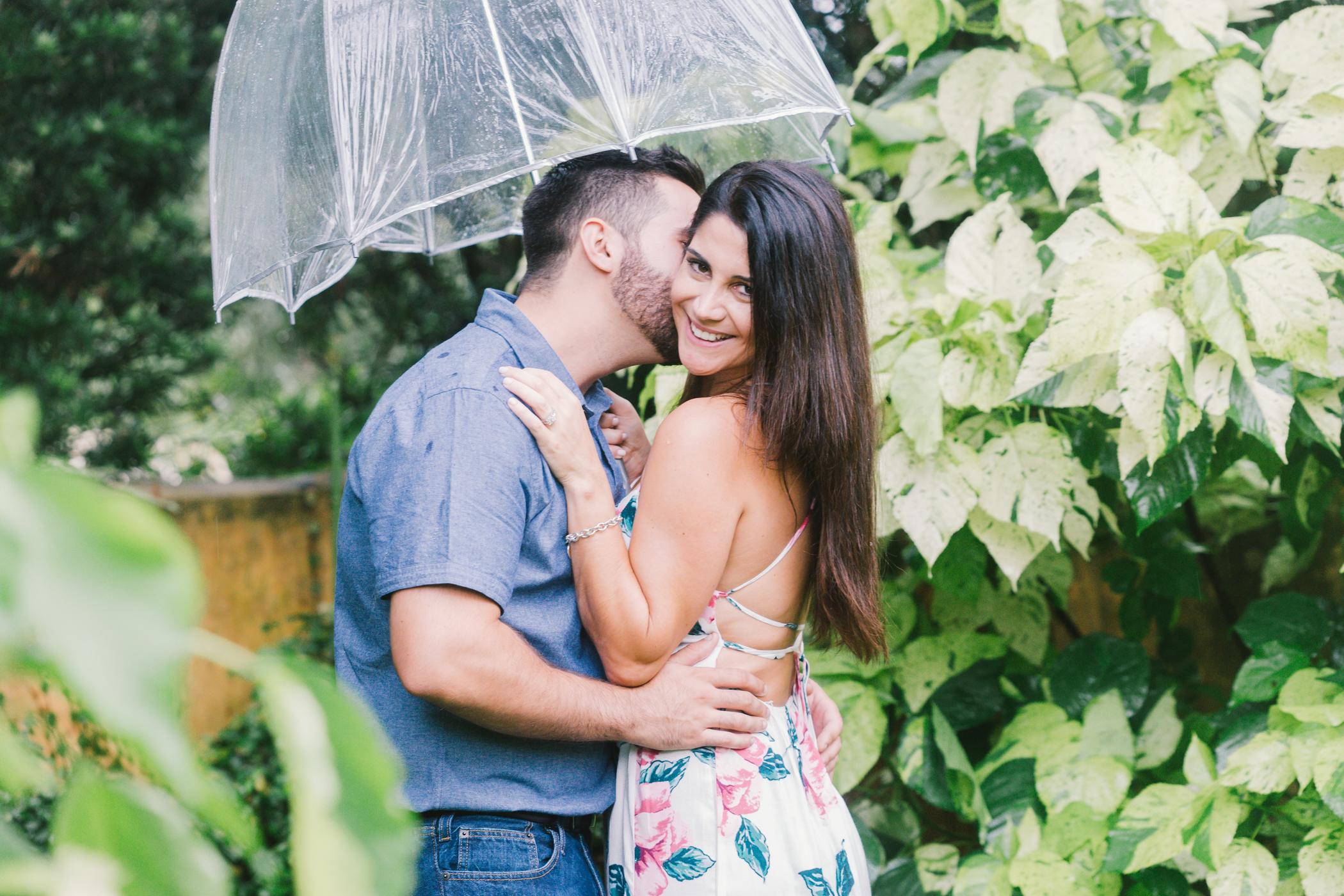 Bok-tower-gardens-engagement-photo, Tampa-wedding-photographer