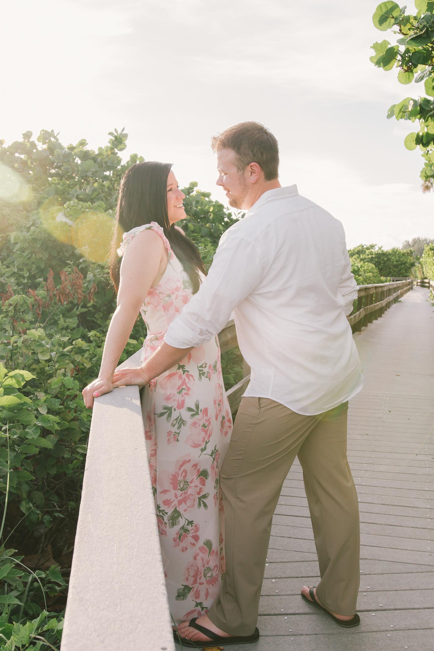 florida-beach-engagement, tampa-wedding photographer