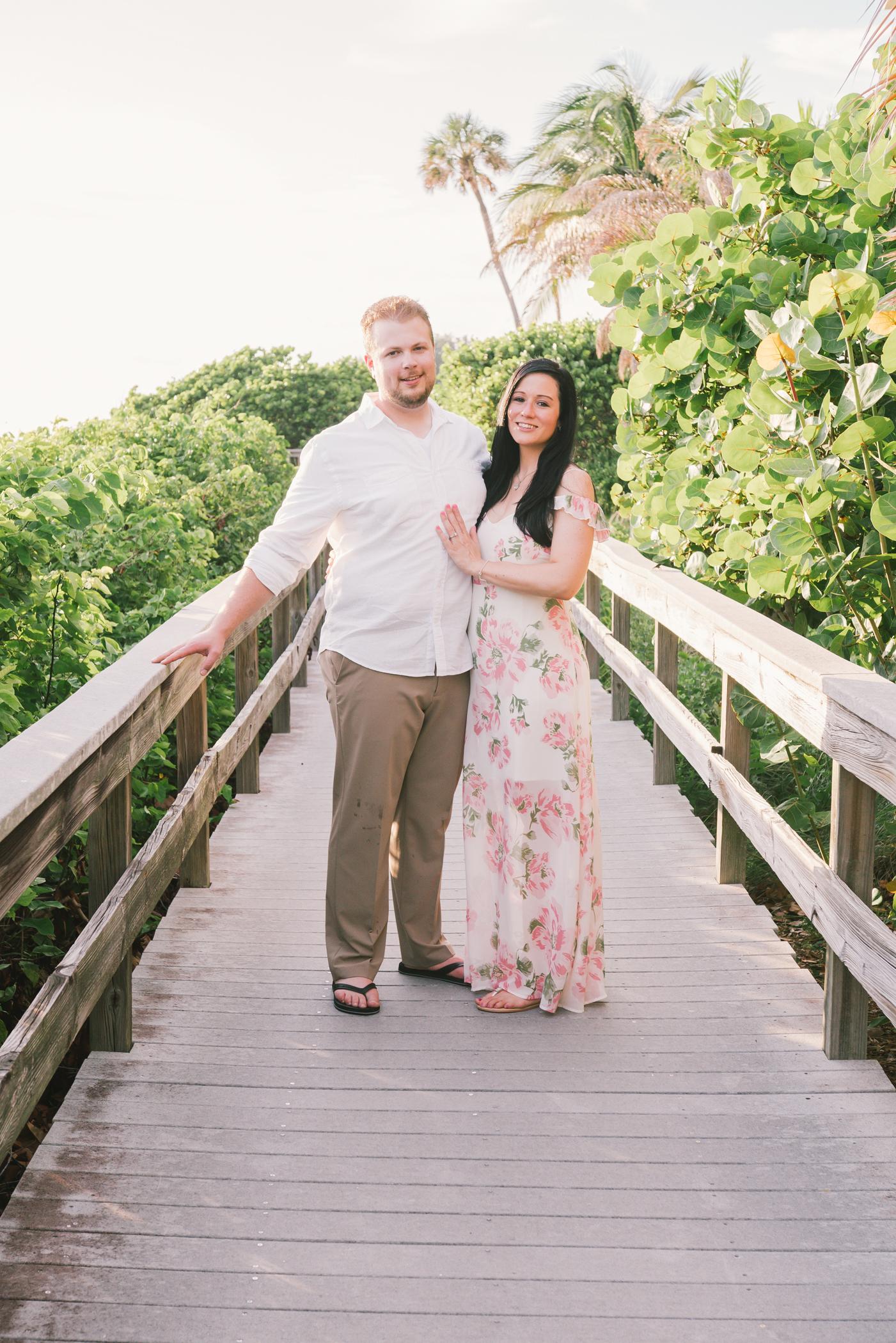 beach-engagement-photoshoot, tampa-wedding-photographer