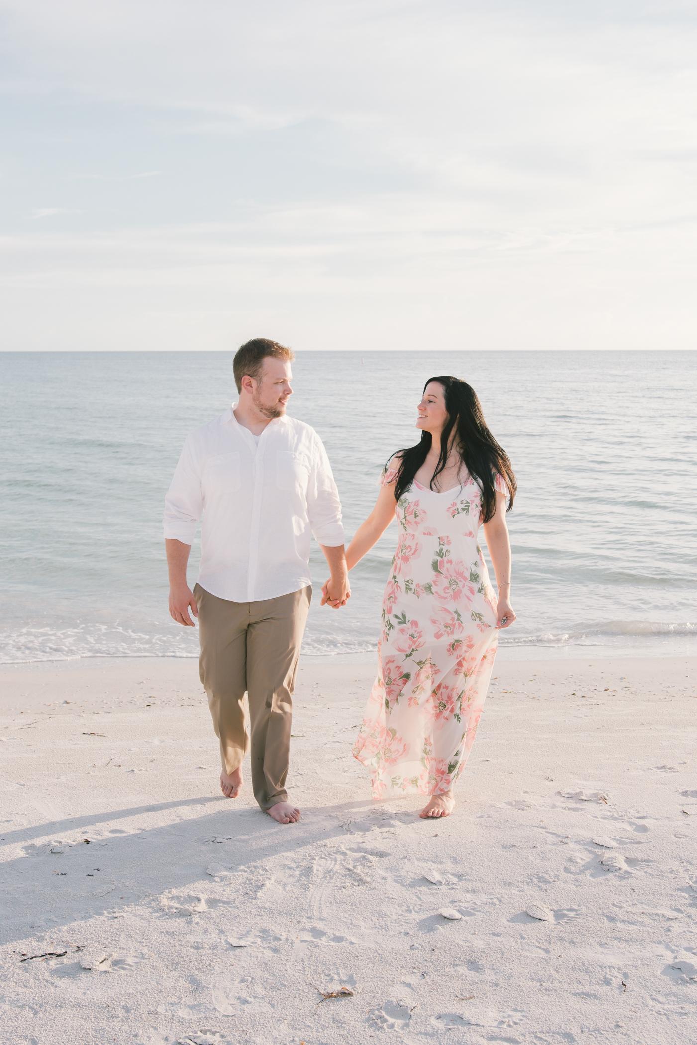 florida-sunset-engagement-photoshoot, tampa-wedding-photographer