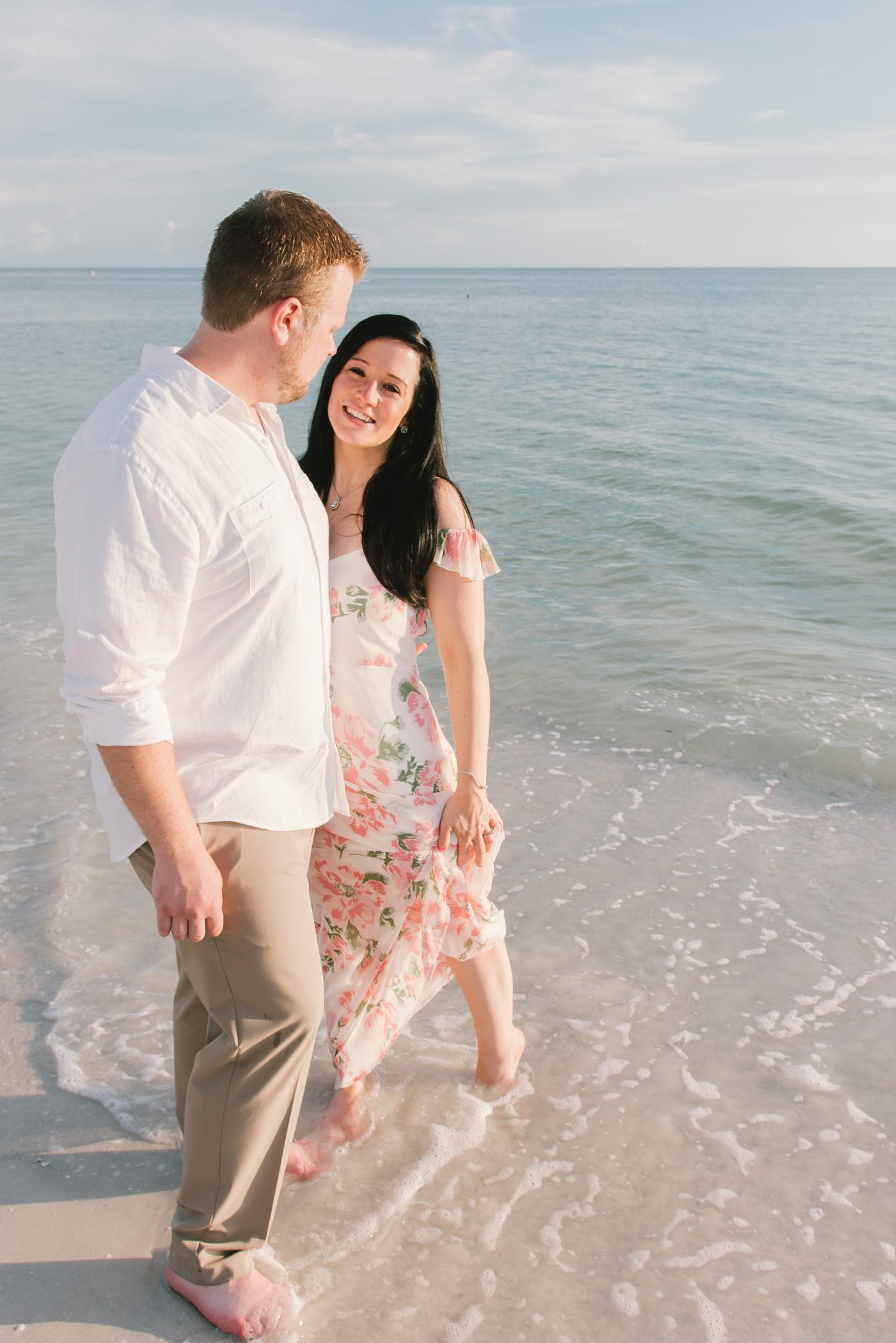 sunset-engagement-photoshoot-florida, tampa-wedding-photographer