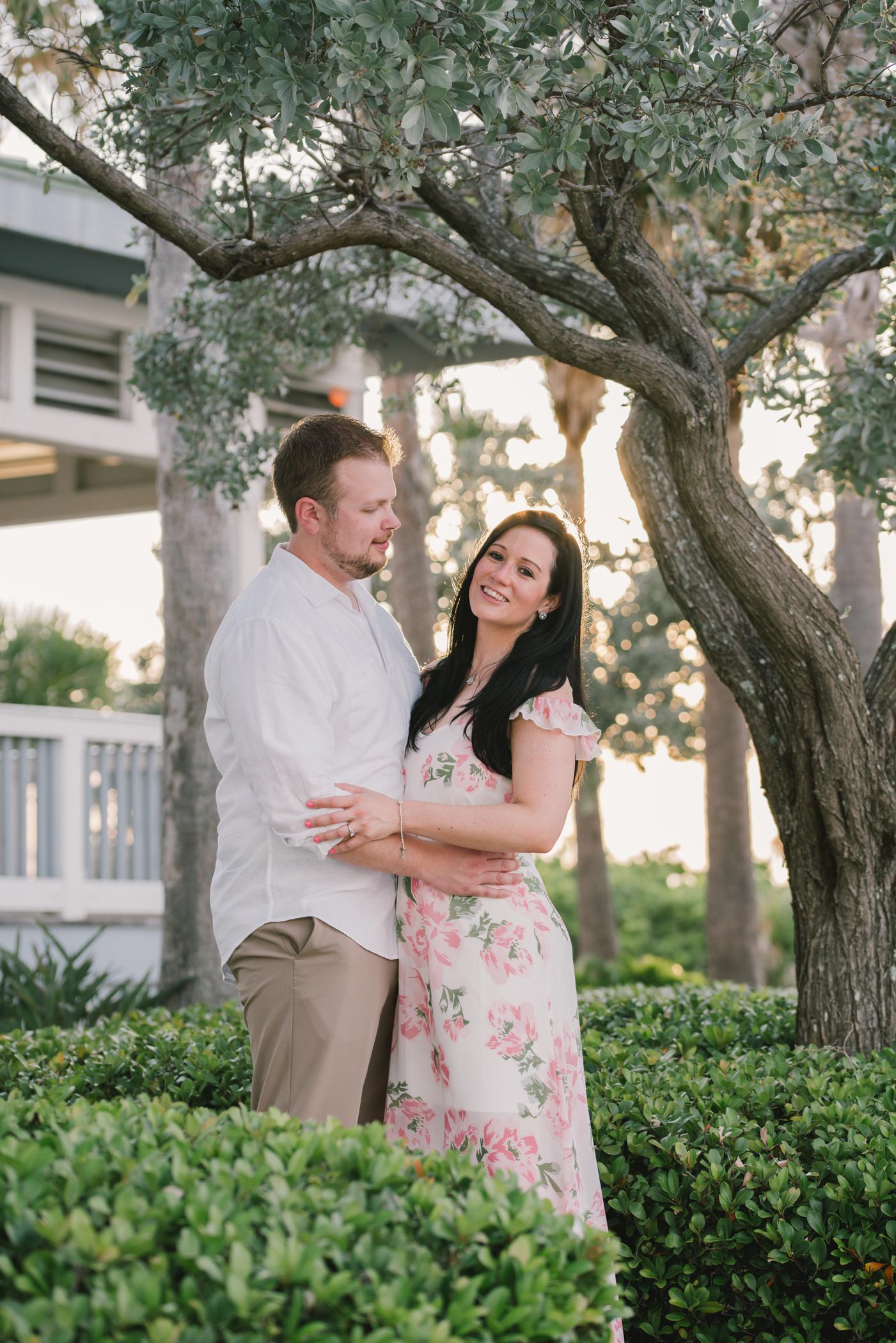 sunset-engagement-session, tampa-wedding-photographer