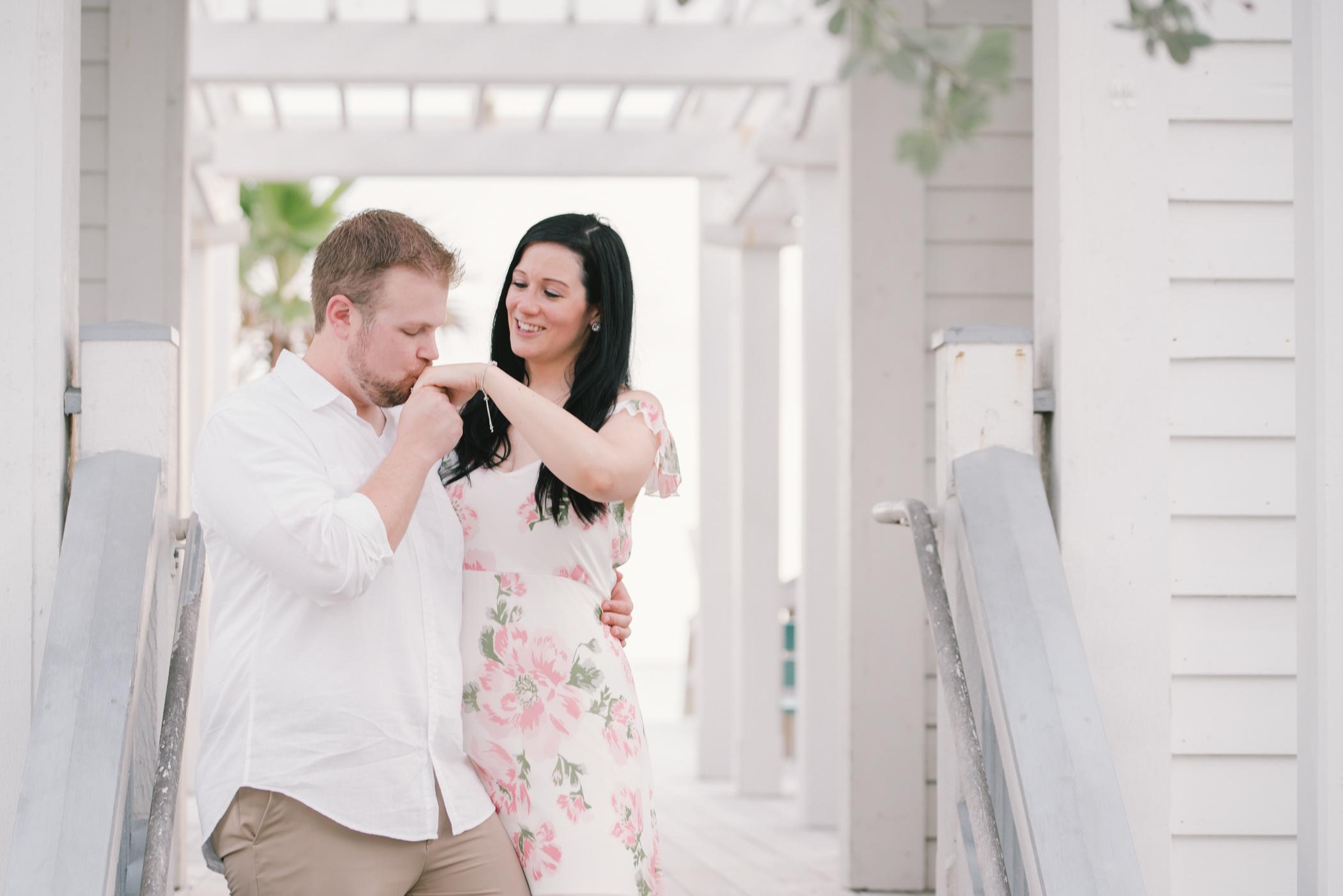 sunset-engagement-photoshoot, tampa-wedding-photographer