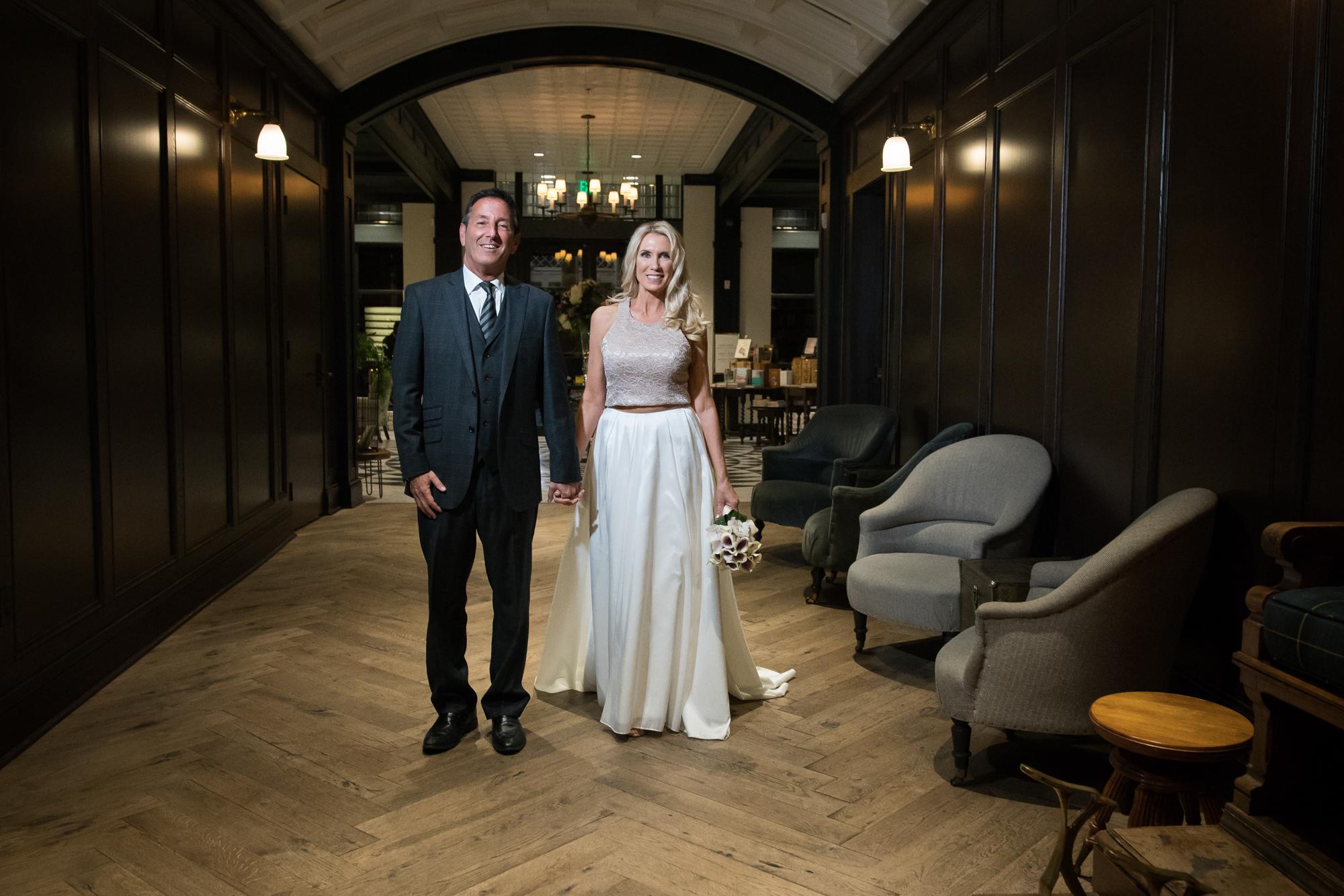 Oxford-Exchange-wedding-photo, bride-and-groom