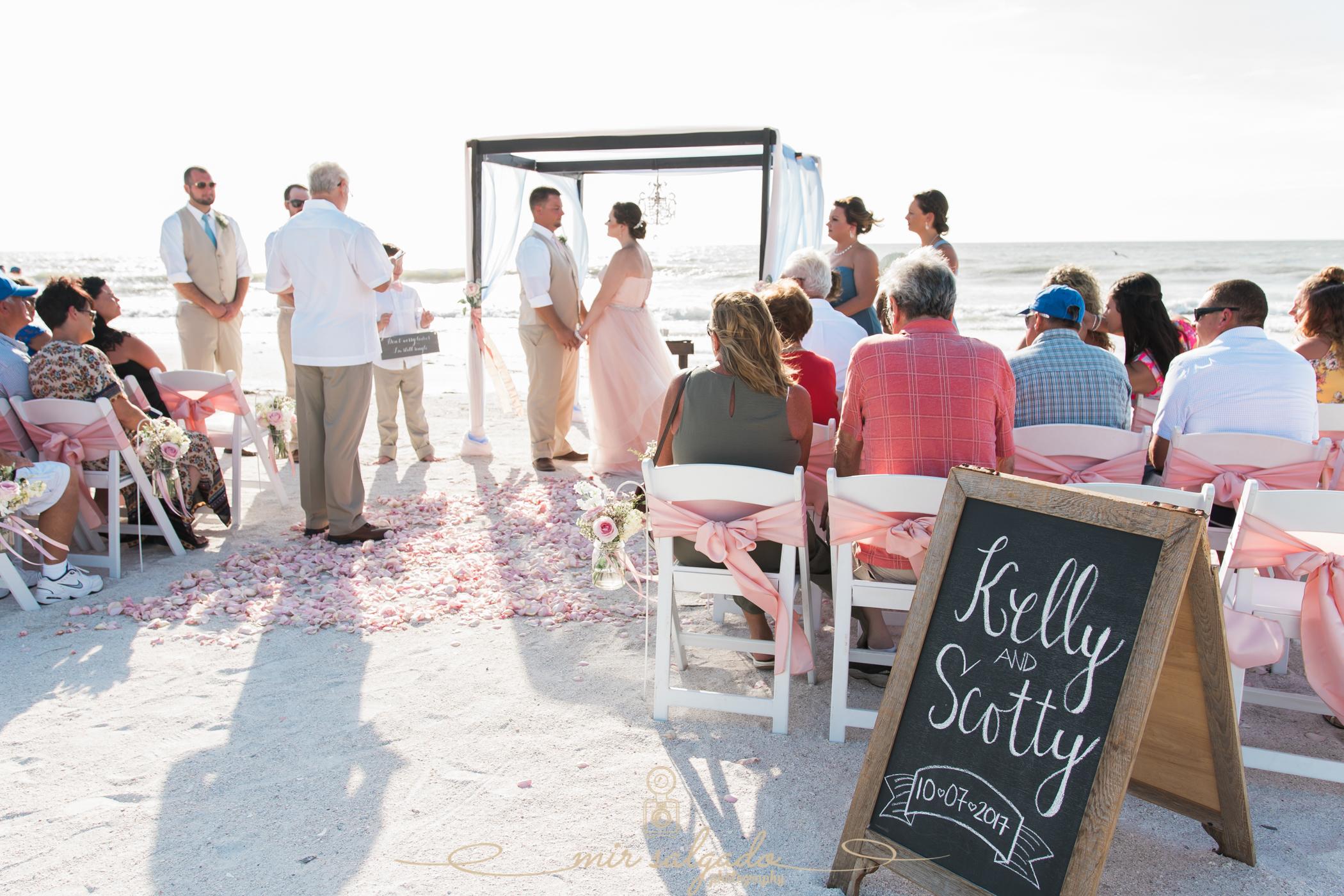 Tide-the-knot-beach-weddings-ceremony, St.Pete-beach-wedding-ceremony