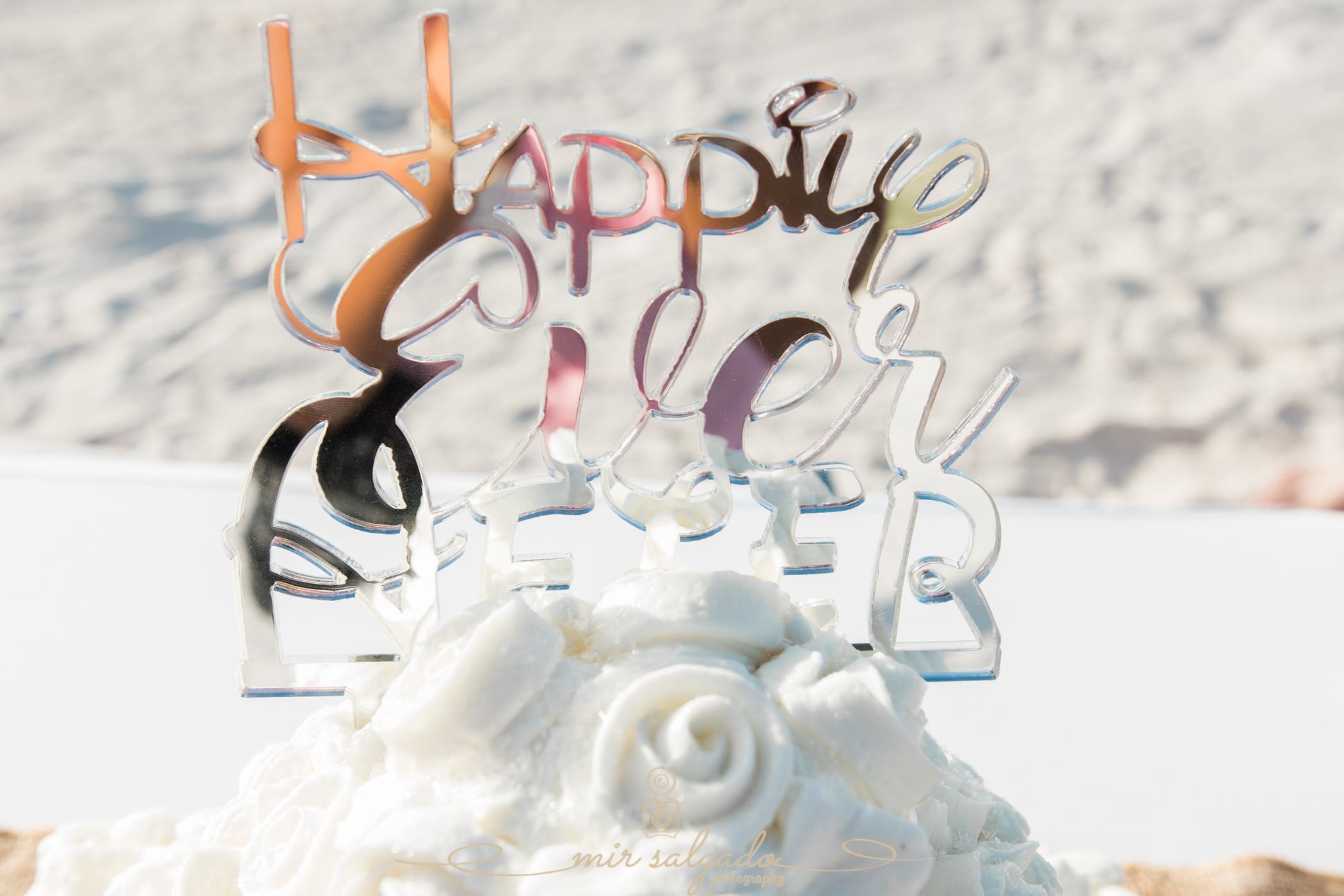 St.Pete-beach-wedding, wedding-cake-photo