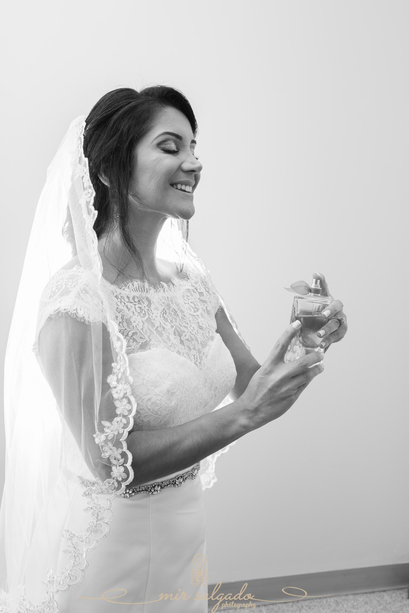Bride-getting-photo, Bok-tower-gardens-wedding