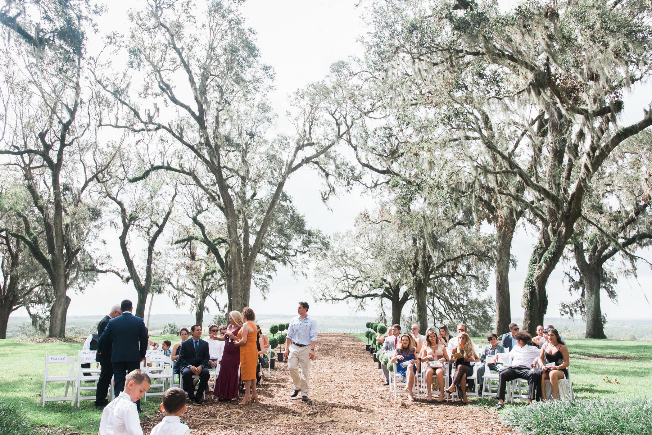 Bok-tower-gardens-ceremony-photo, Tampa-wedding-photographer