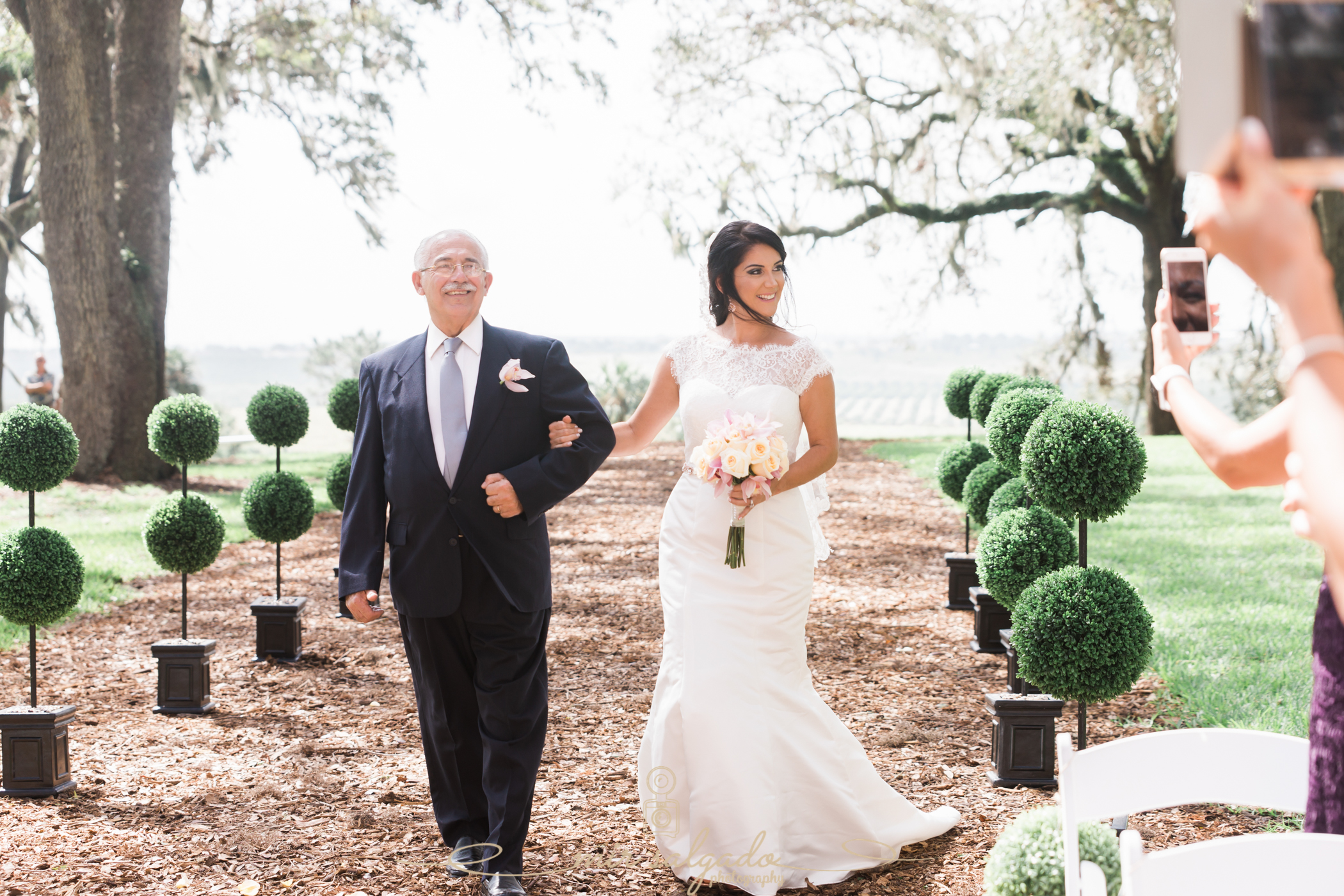 Bok-tower-gardens-wedding-ceremony-photo, Tampa-photographer
