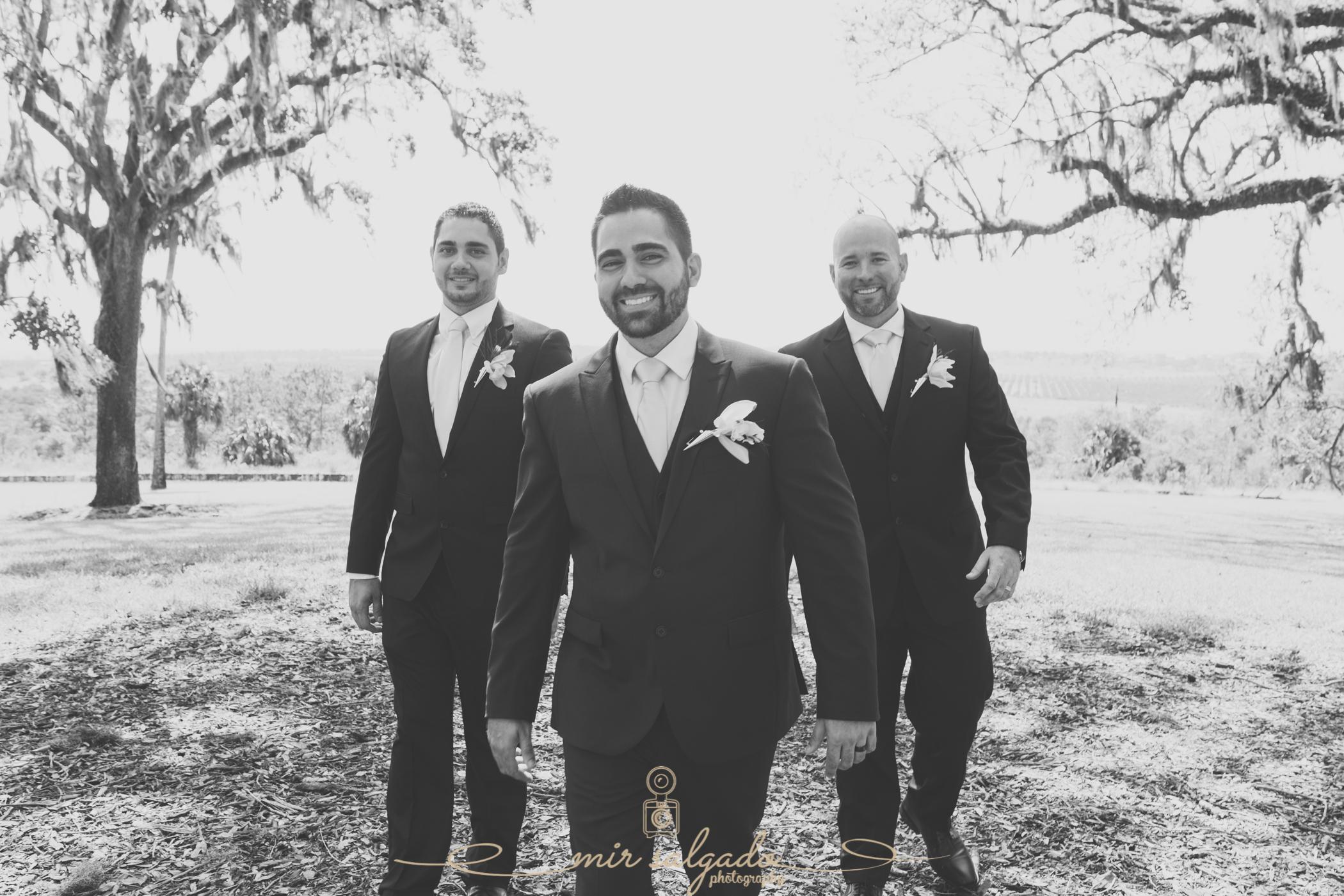 groom-and-groomsmen-photo, Bok-tower-wedding-photo