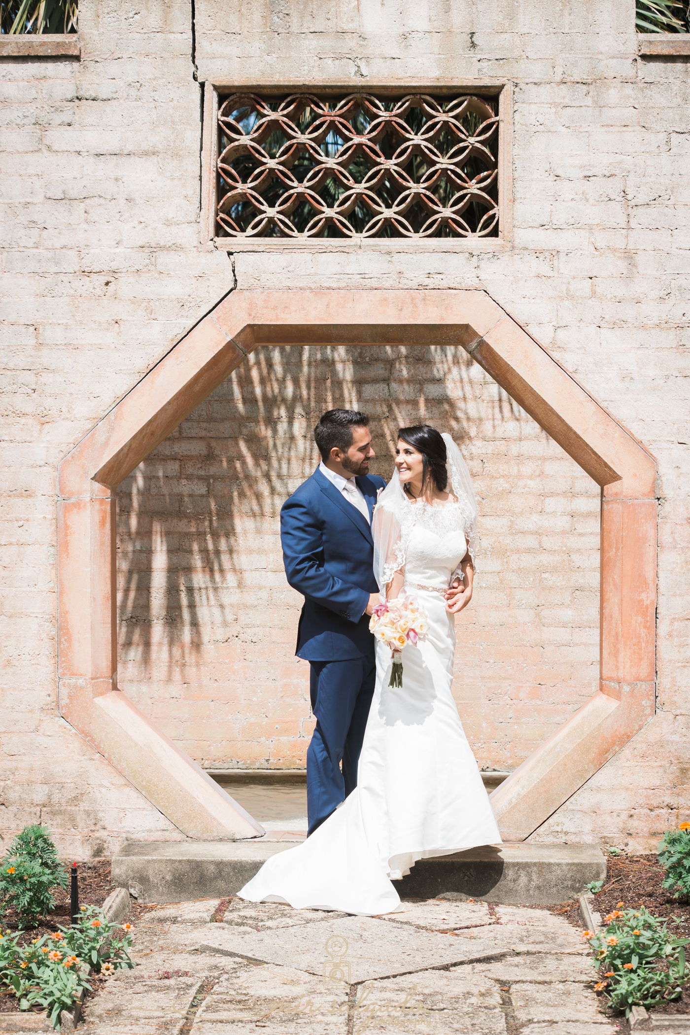 bride-and-groom-portrait, Bok-tower-gardens-wedding-photography