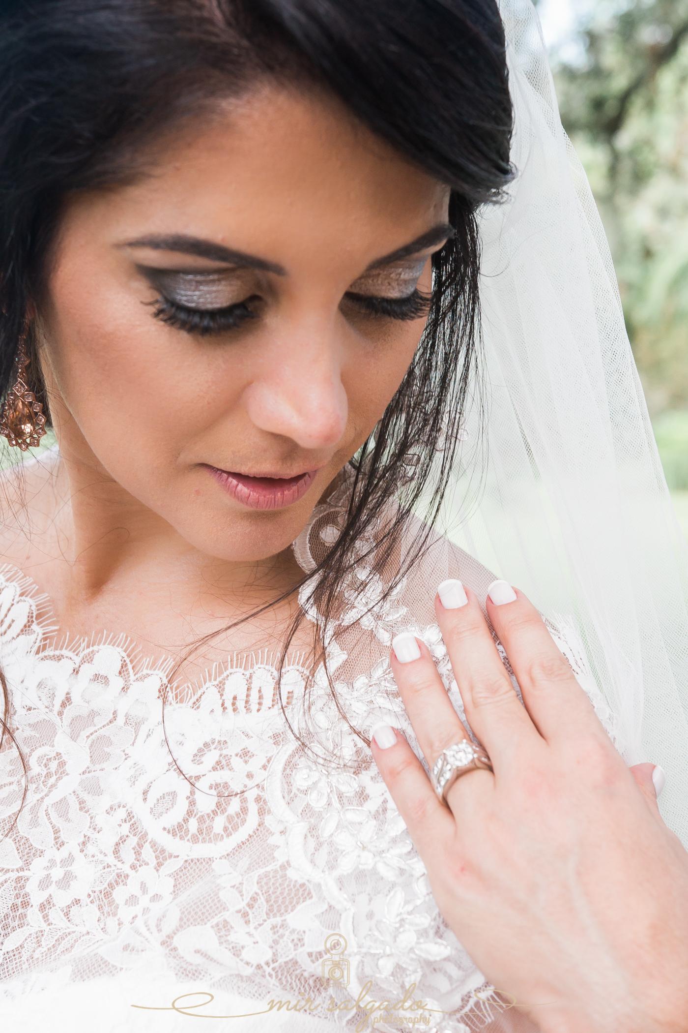 Bok-tower-gardens-wedding-photo, bride-portrait, Tampa-wedding