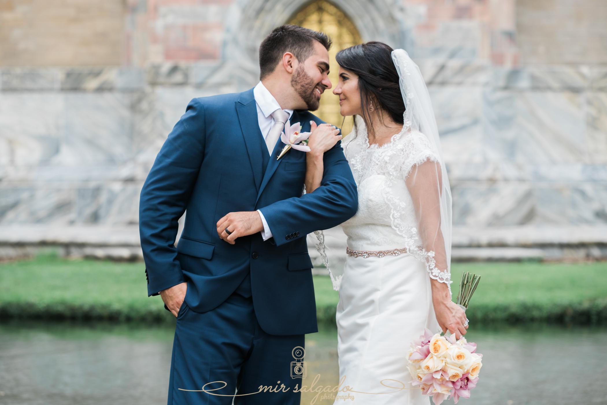 Bok-tower-gardens-wedding-day, Bride-and-groom-photo, Bok-tower