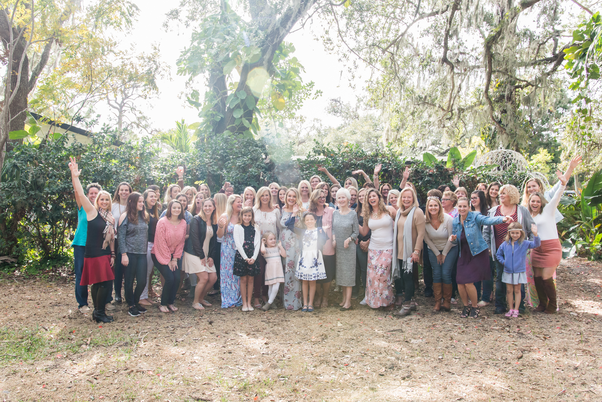 Tampa-photographer, Tampa-baby-shower-group-photo