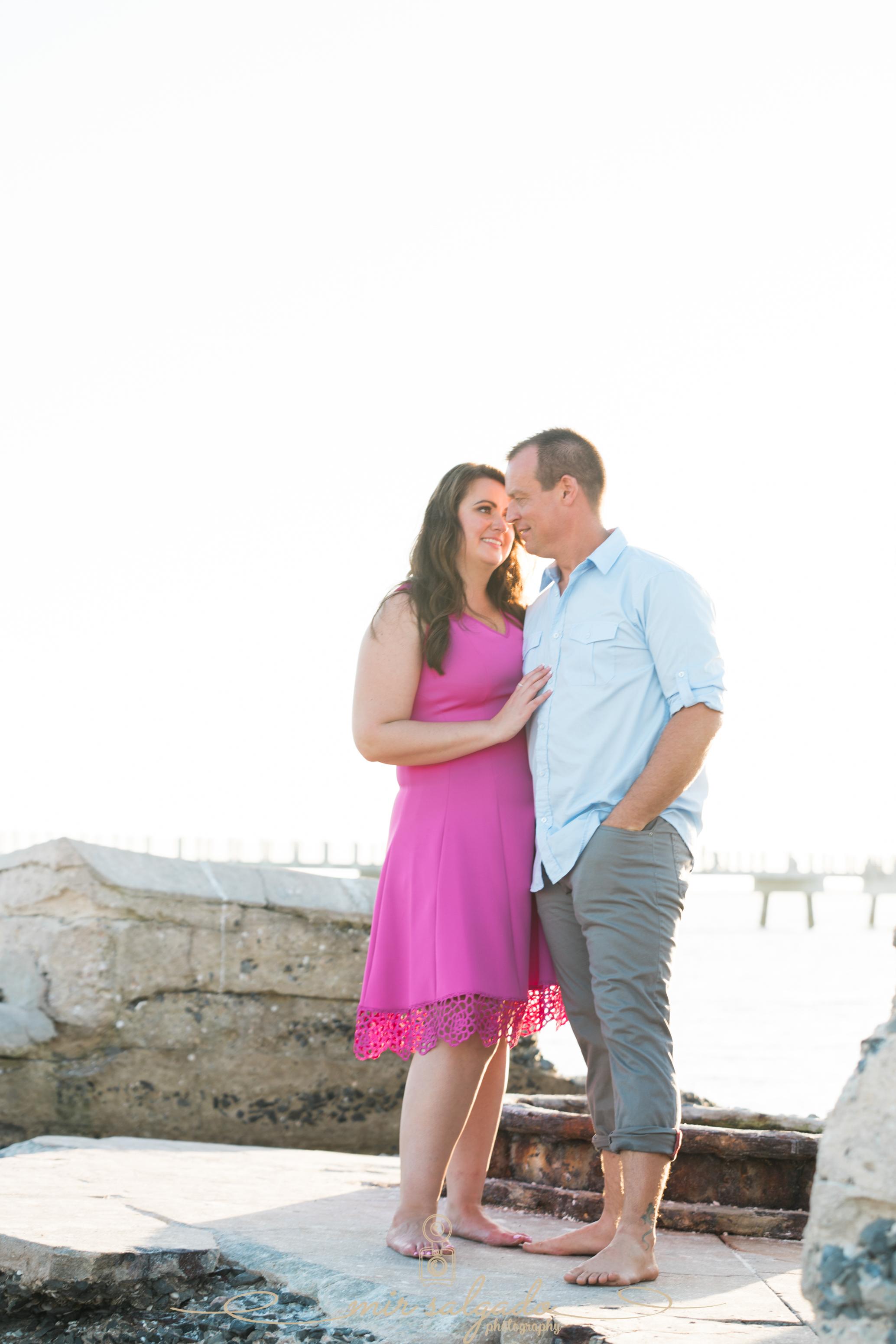 Fort-de-Soto-beach-engagement-photo, Florida-engagement-session