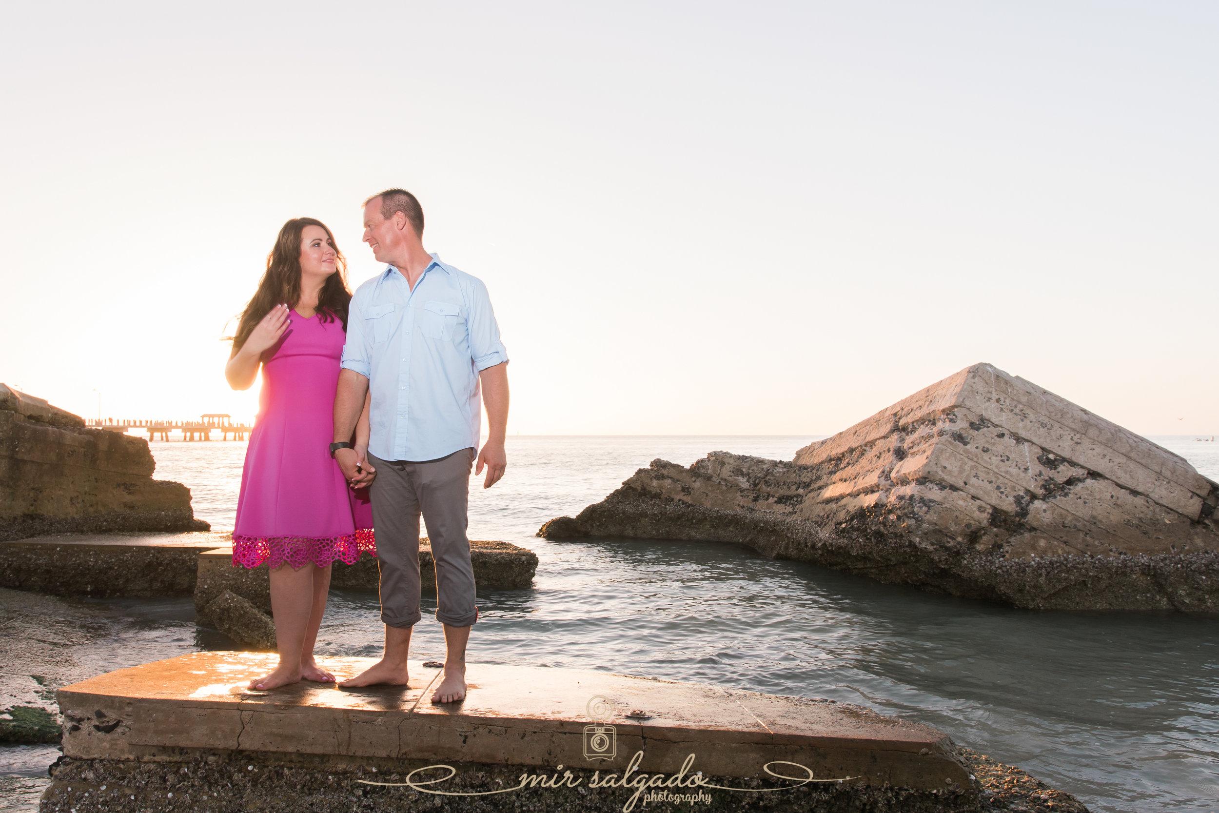 Fort-de-Soto-engagement-session, Florida-wedding-photographer