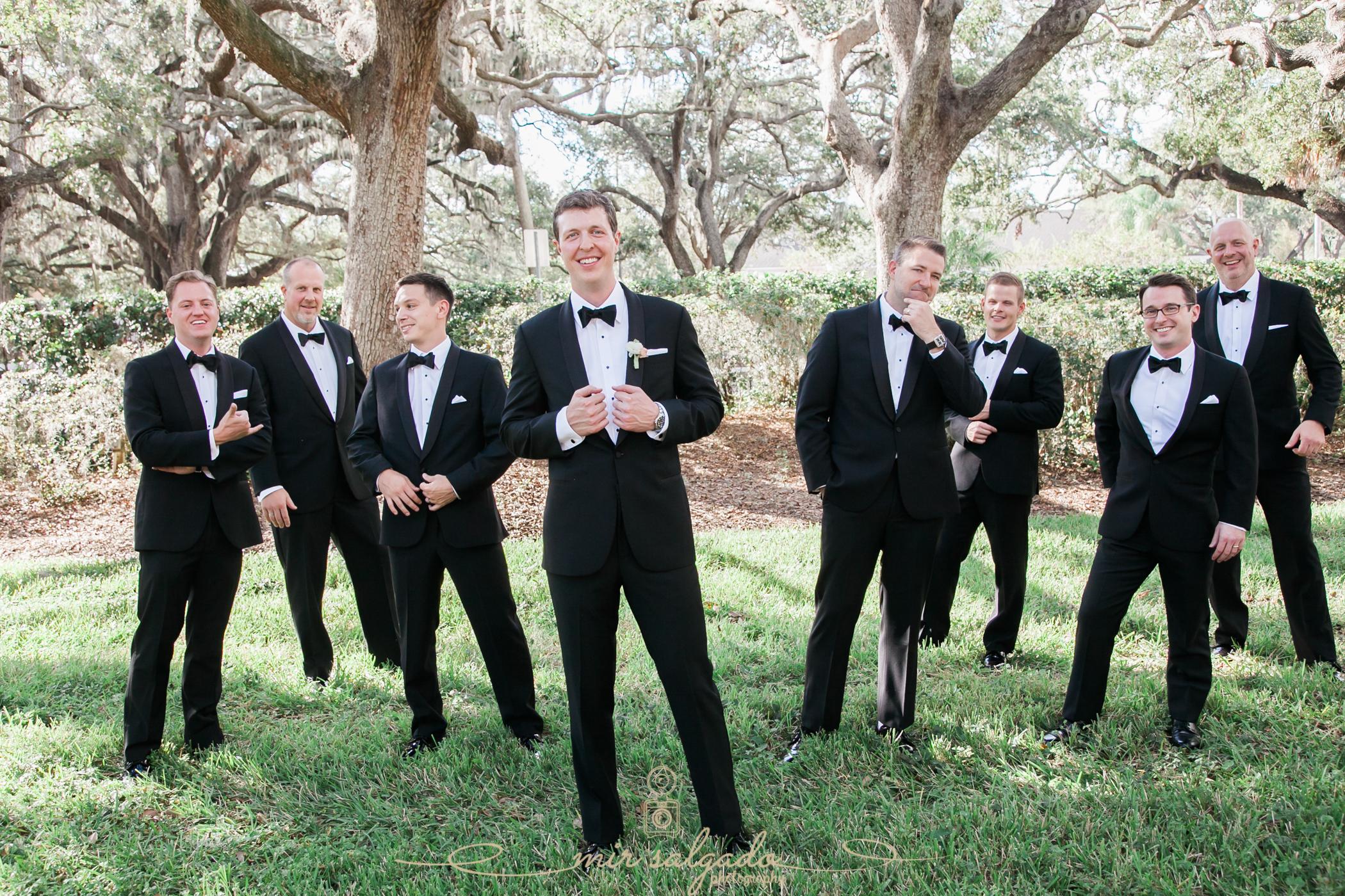 Tampa-wedding-photo, groomsmen-photo