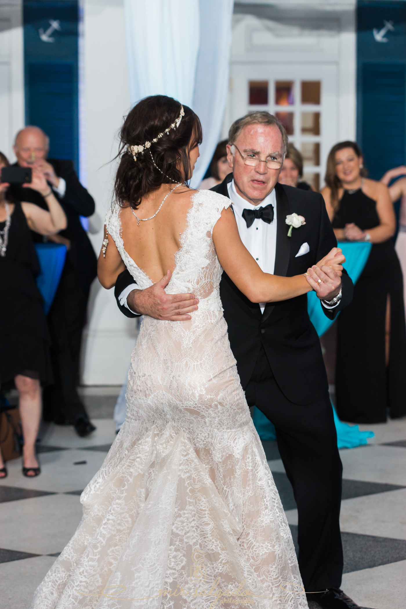 Father-daughter-dance, Tampa-wedding-photo