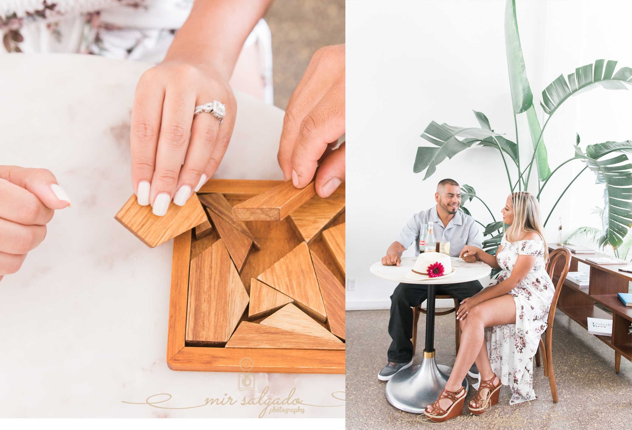 miriam-photography-tampa-st-pete-engagement-session-puzzle-time-drinking-hand-holding