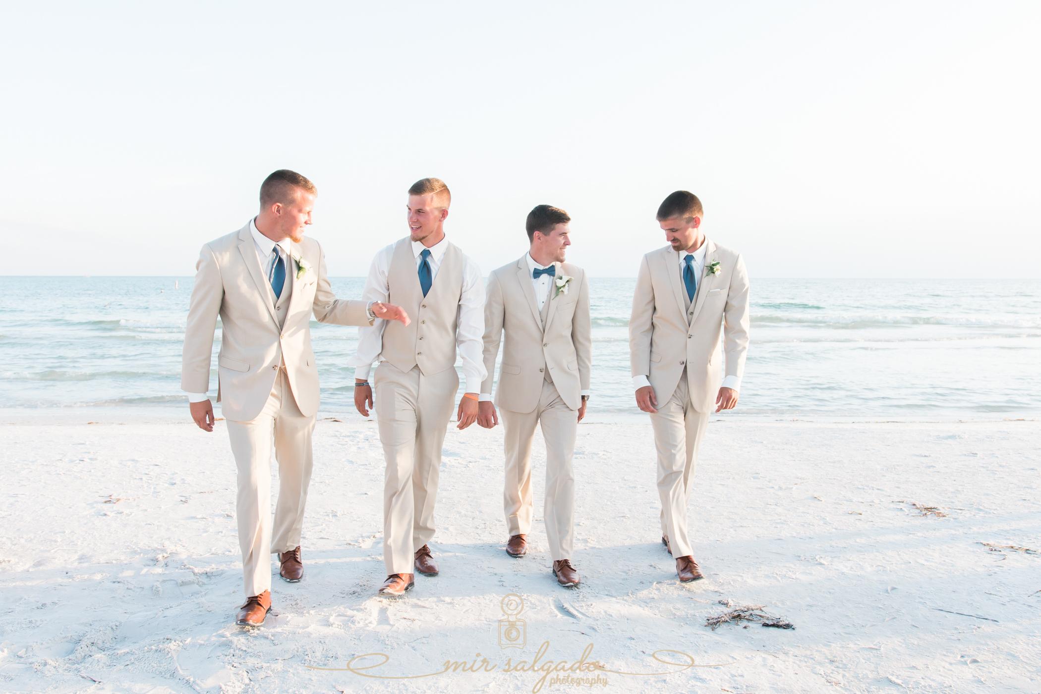 groom-and-groomsmen-photo, beach-wedding-photographer, Florida-wedding-photographer