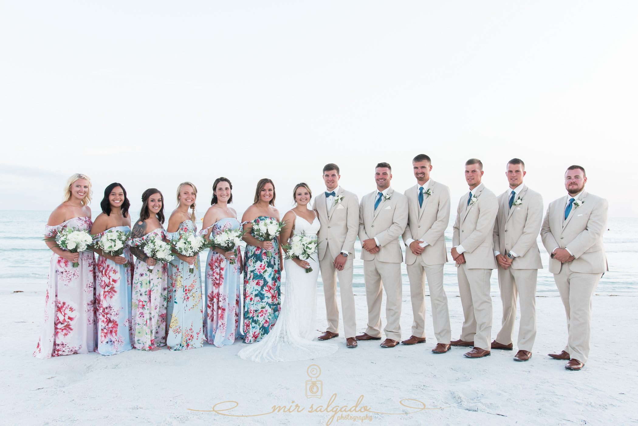 bridal-party-photo, Florida-bridal-party, Destination-wedding-photo